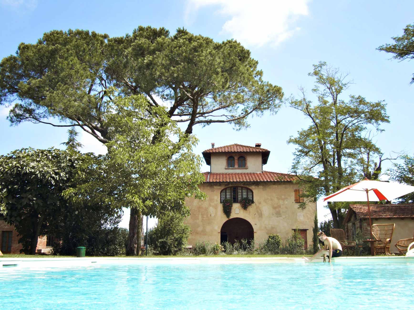Nuestro alojamiento en Toscana