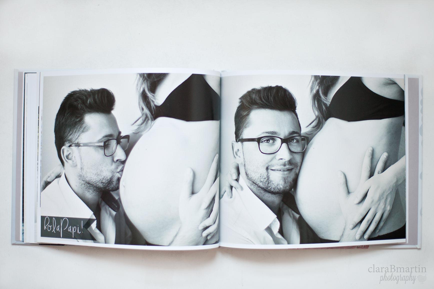 Libro-de- embarazo-Blurb-clarabmartin