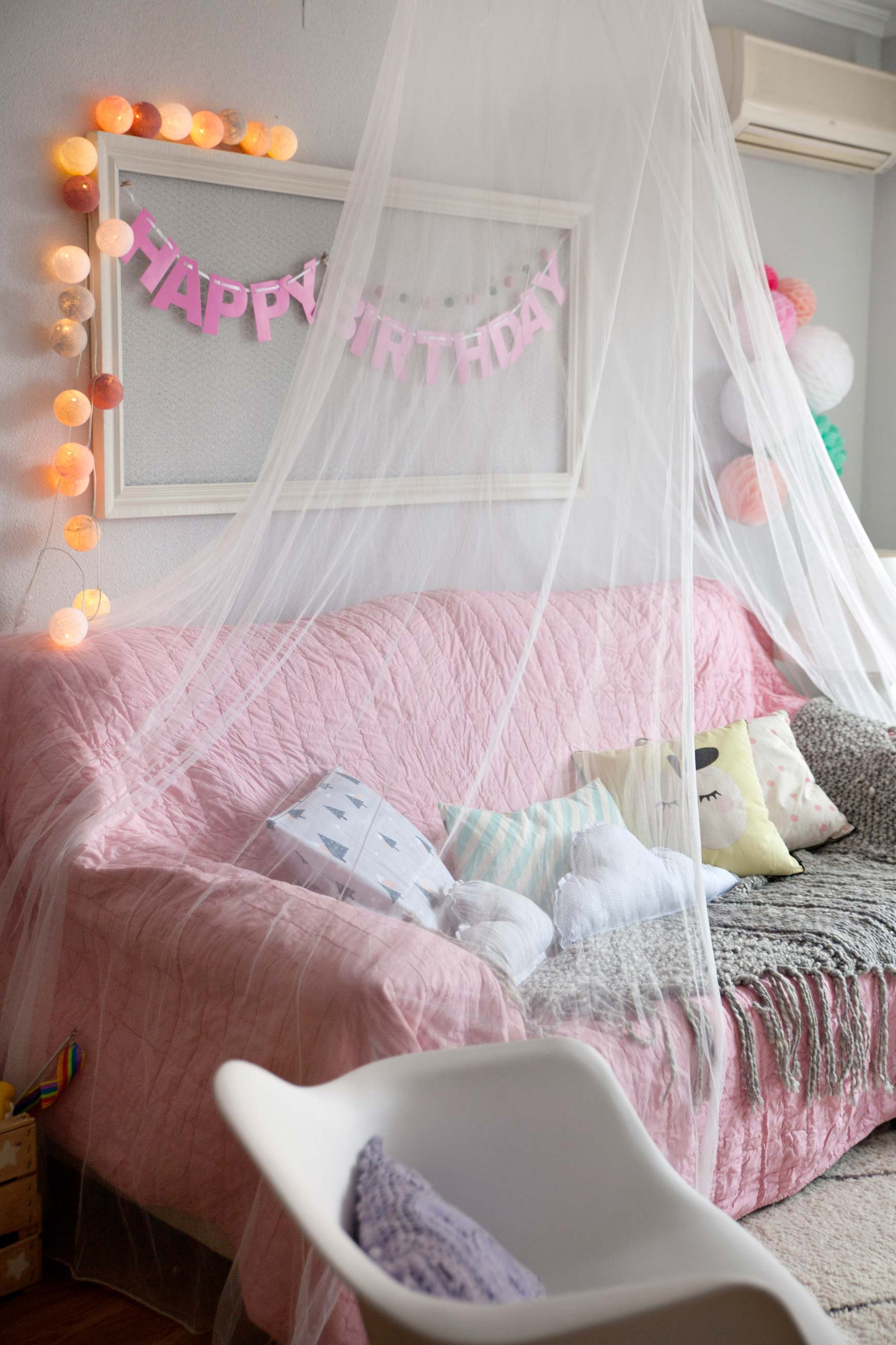 Una fiesta de pijama para mi cumpleañera