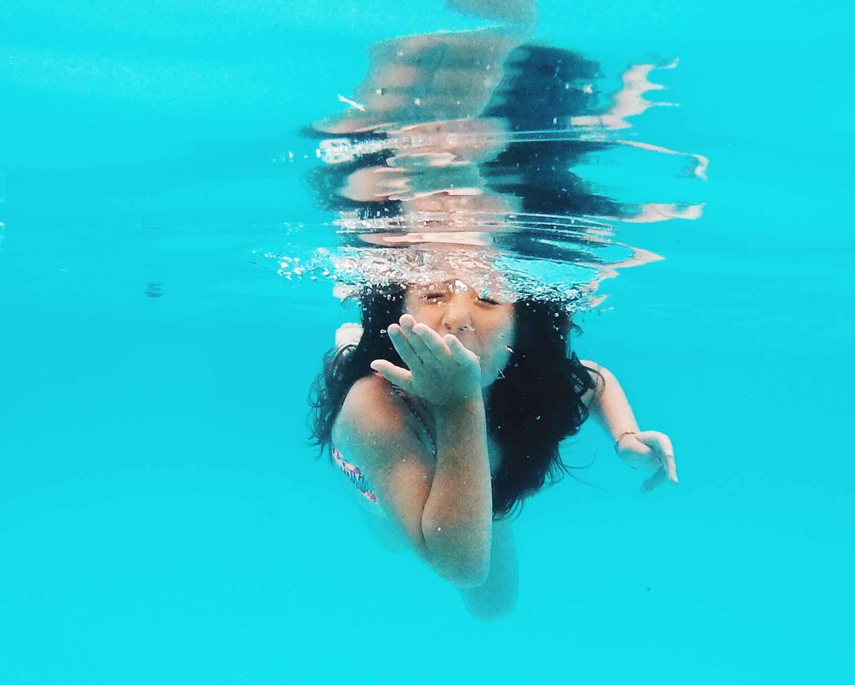 Como editar las fotos bajo el agua
