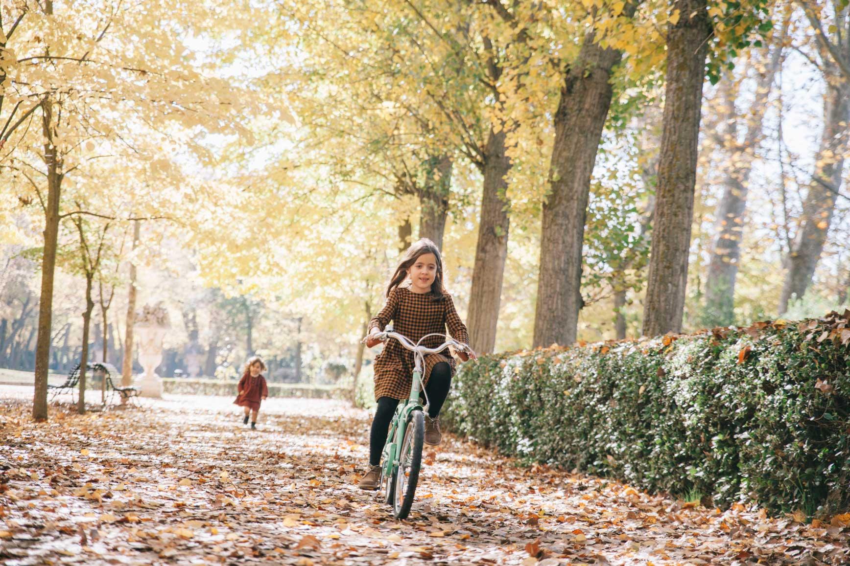 El día que aprendiste a montar en bicicleta
