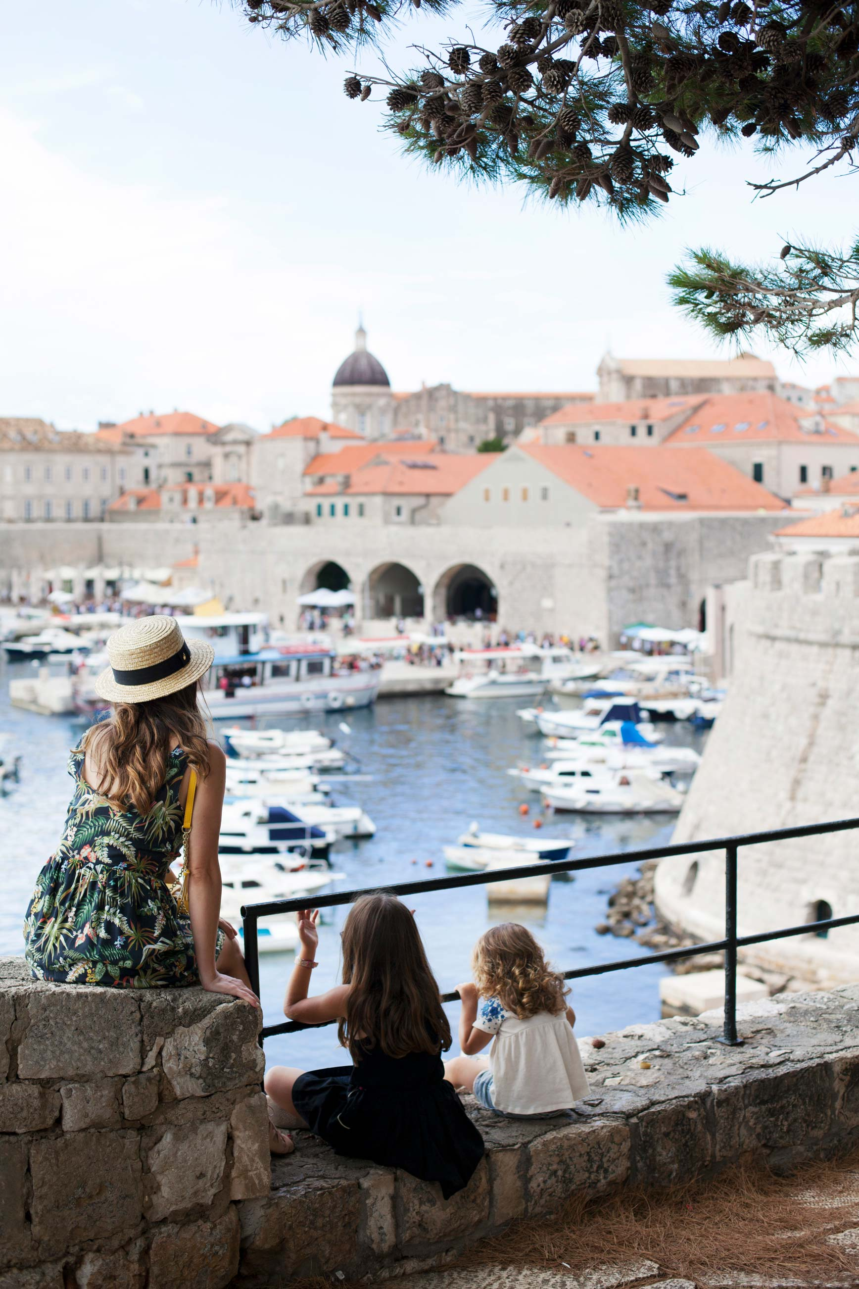 Dubrovnikcon niños