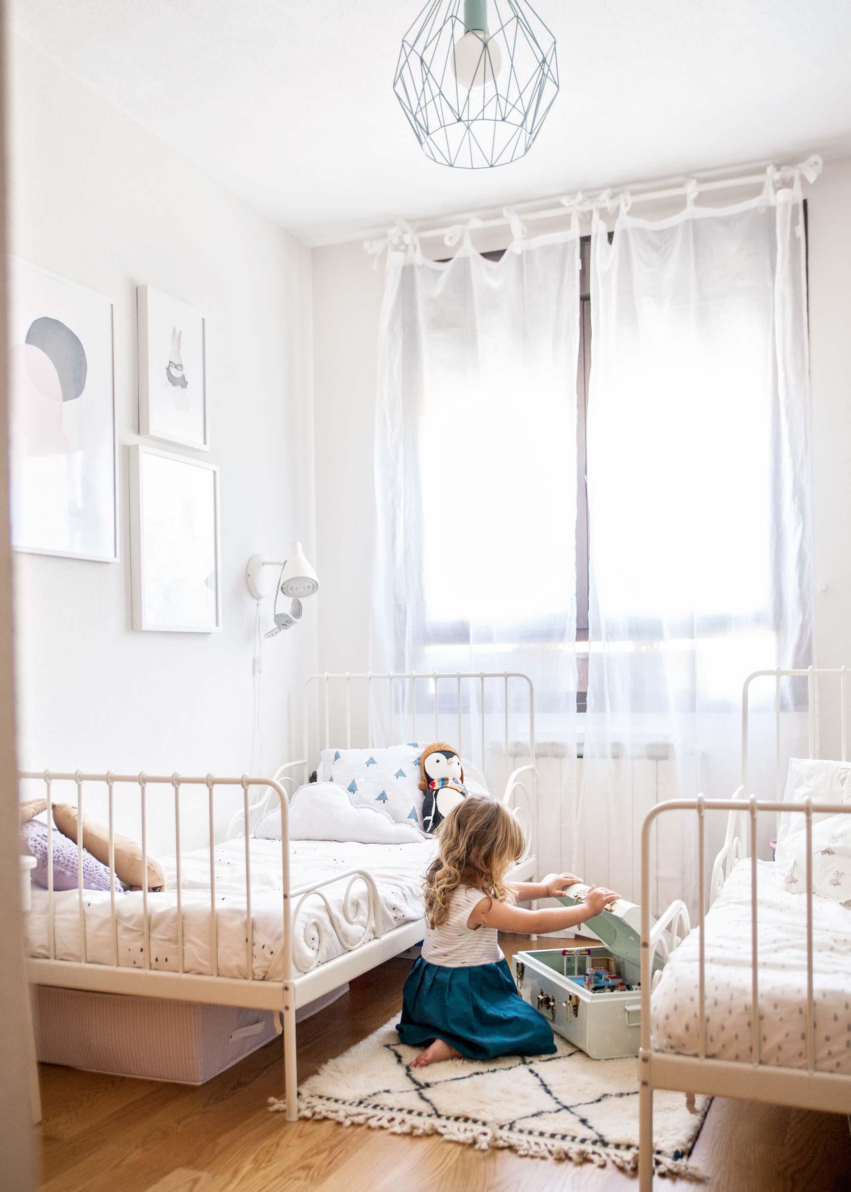 La habitación de Sofía y Olivia