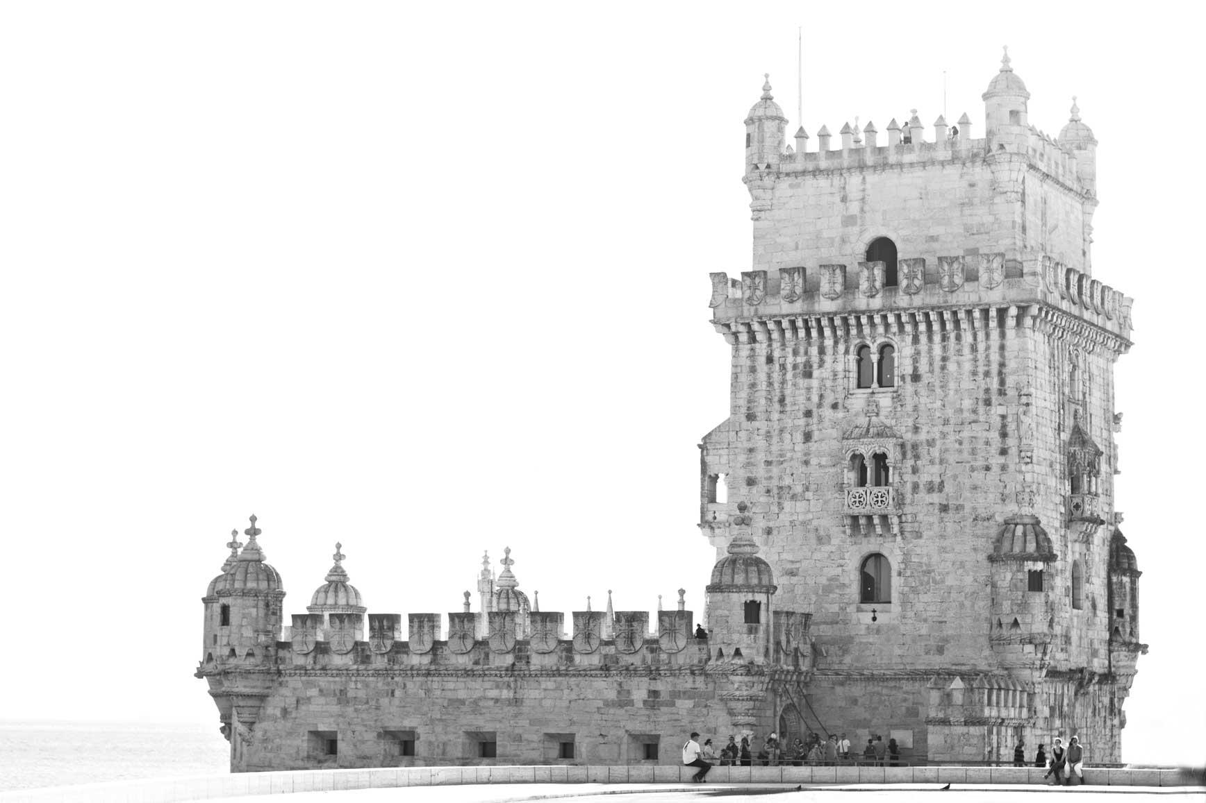 Lisboa Torre de Belem - claraBmartin