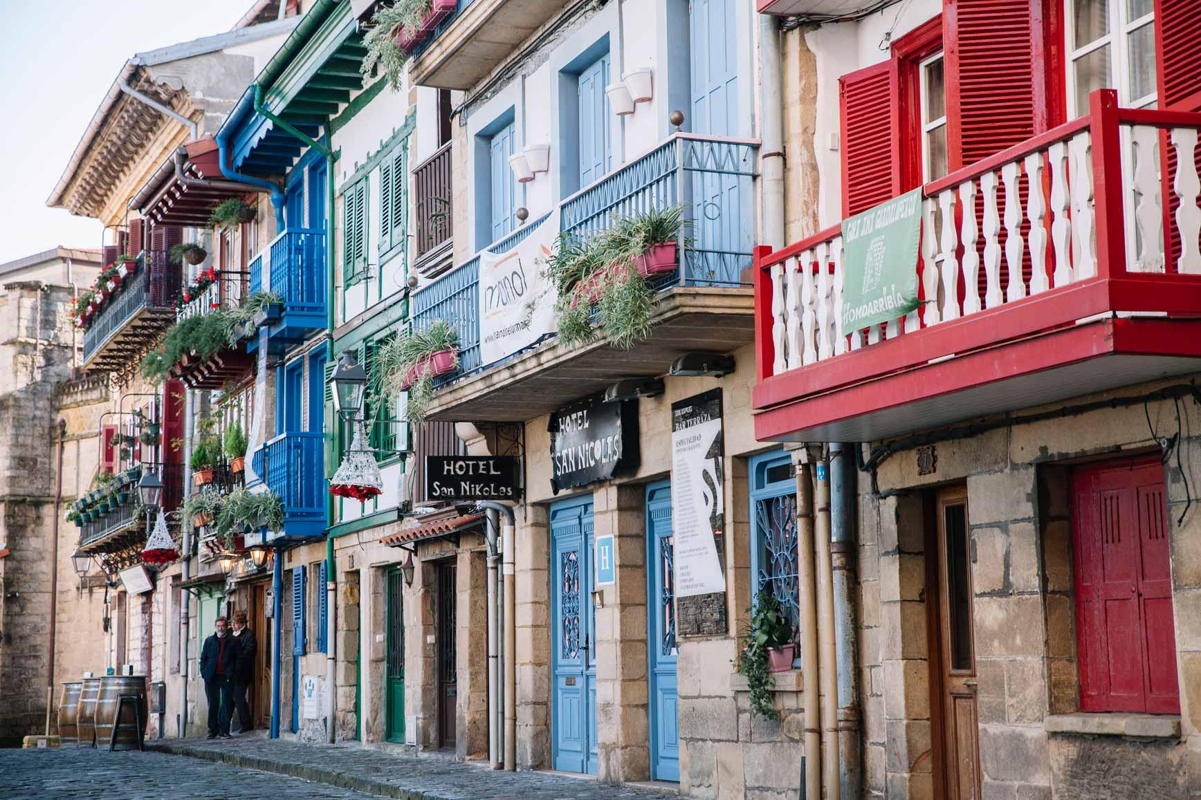 Pueblos con encanto en España -  Hondarribia