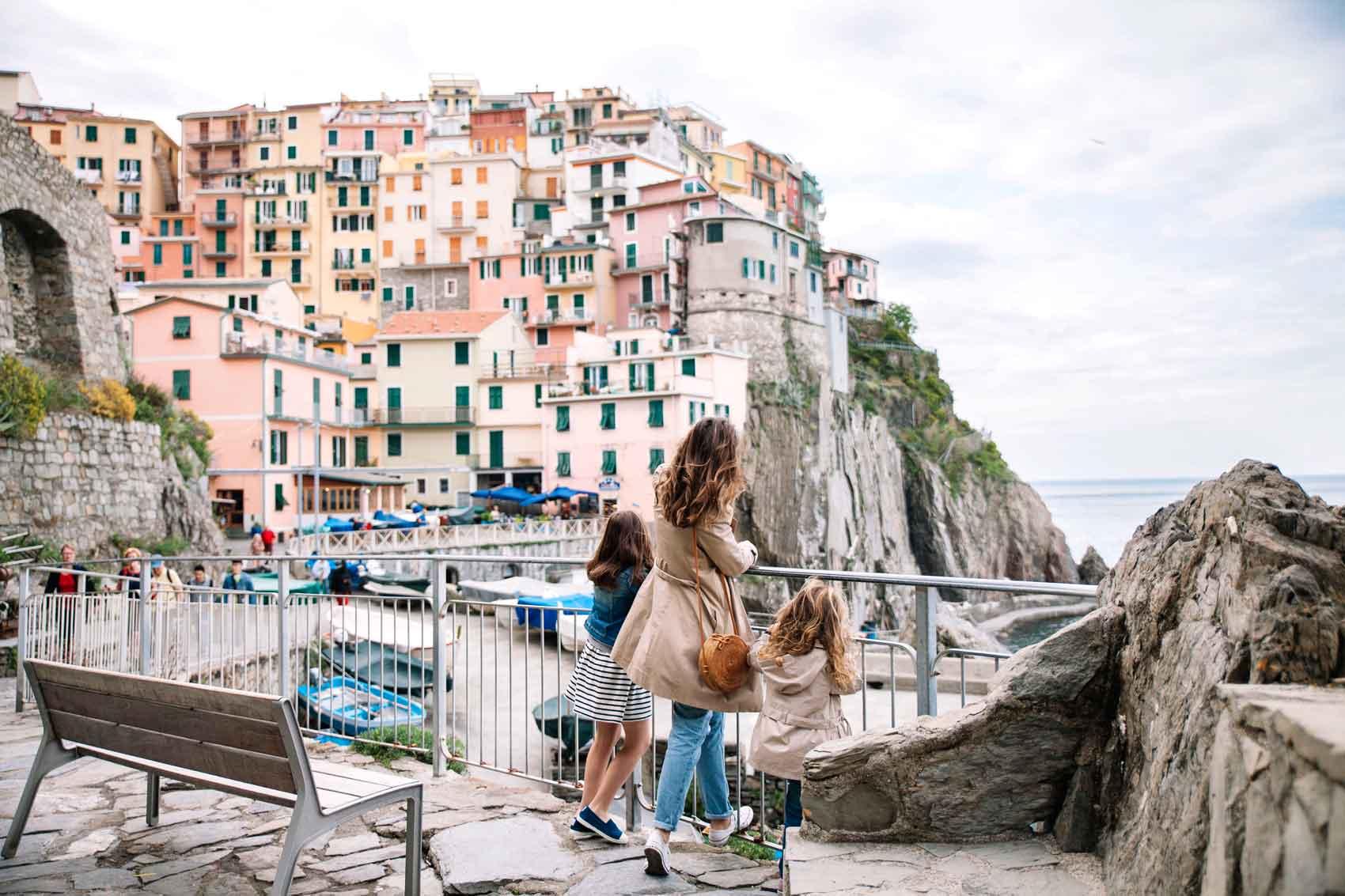 Cinque Terre con niños - Manarola