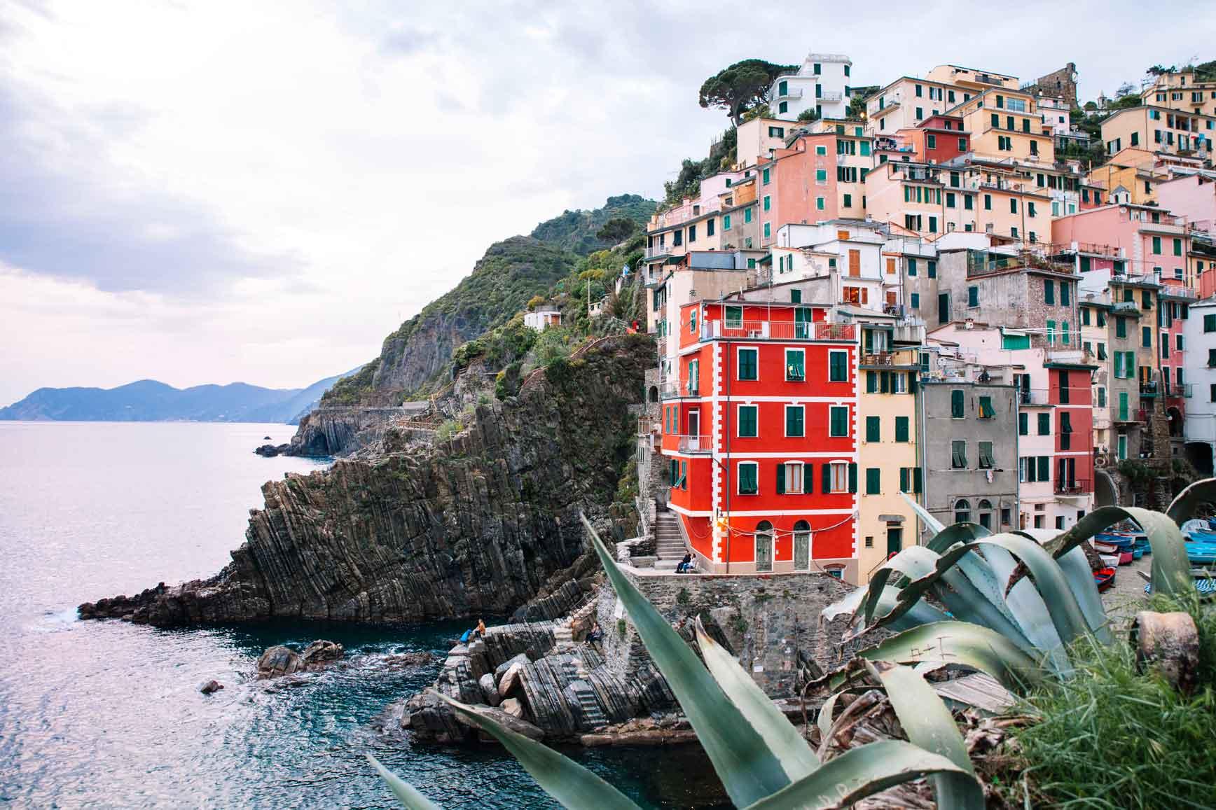 Cinque Terre con niños - Riomaggiore
