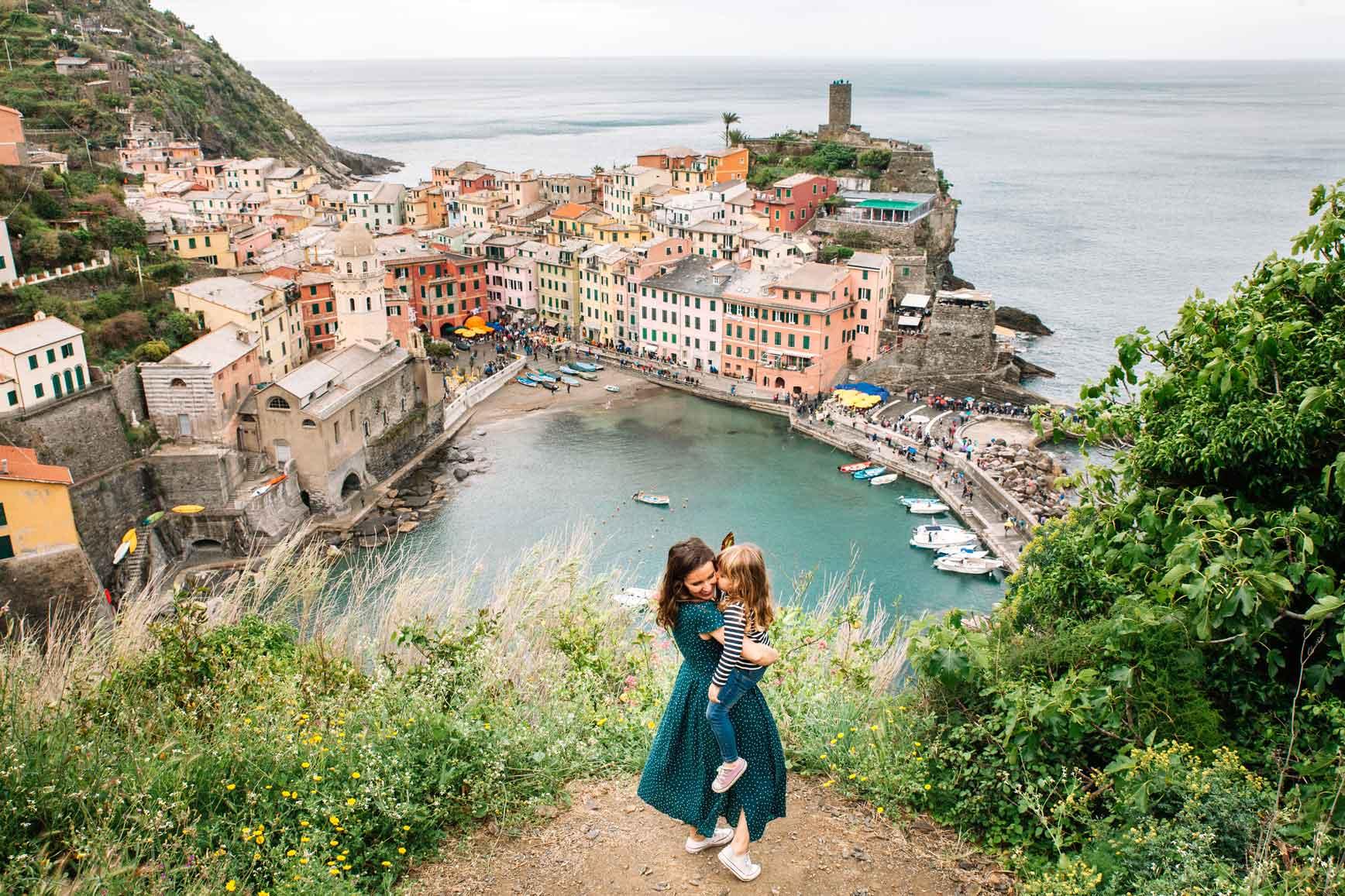 Cinque Terre con niños  - Vernazza