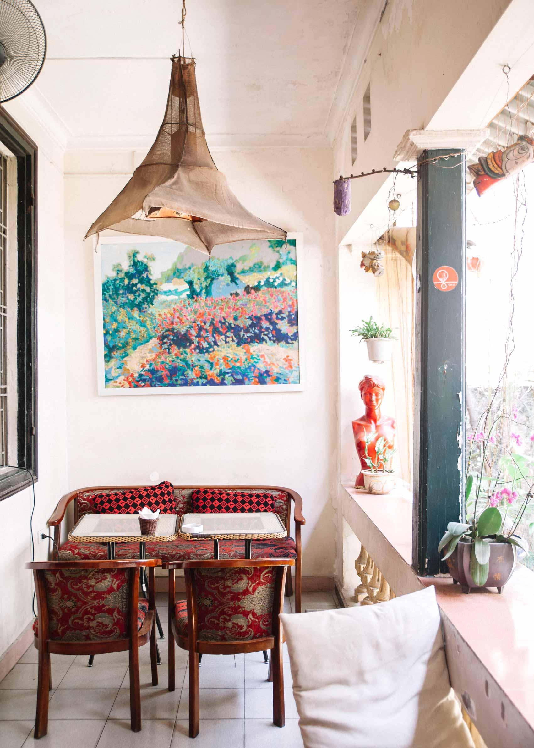Dónde comer en Hanói: Restaurantes y cafeterías bonitas