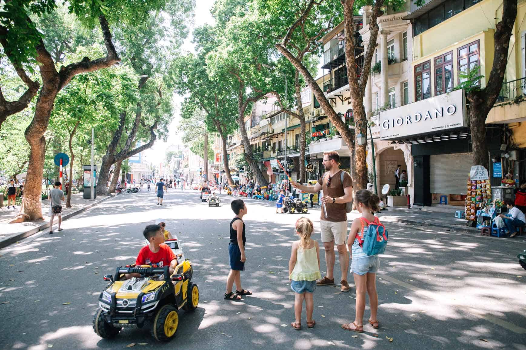 Que hacer en Hanói con niños