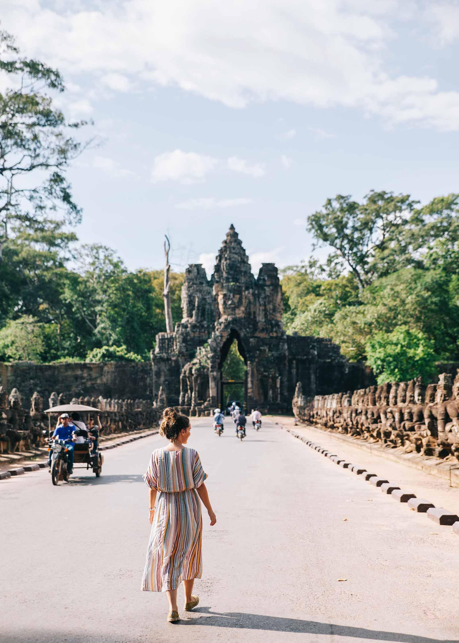 Guía para visitar los templos de Angkor con niños