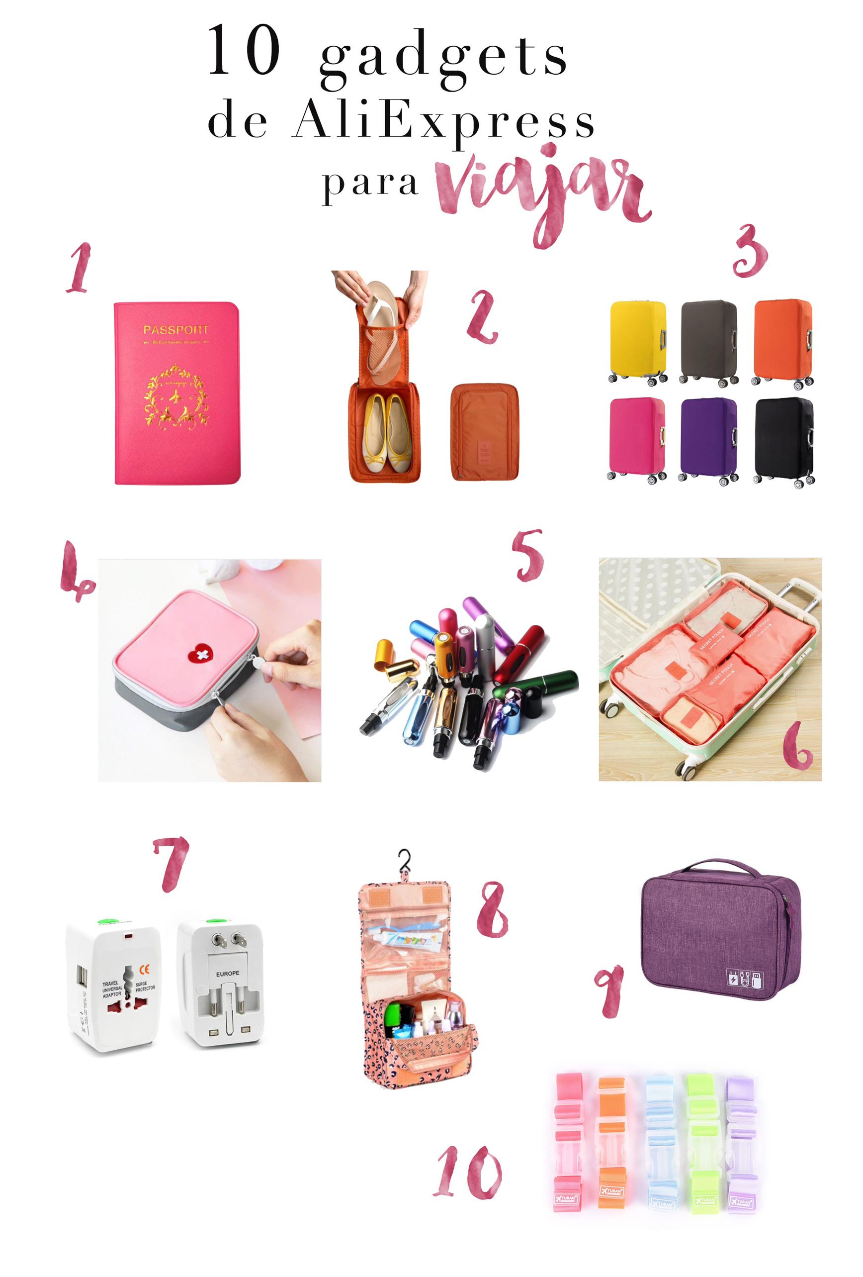 10 Gadgets para viajar (y baratos!) de AliExpress