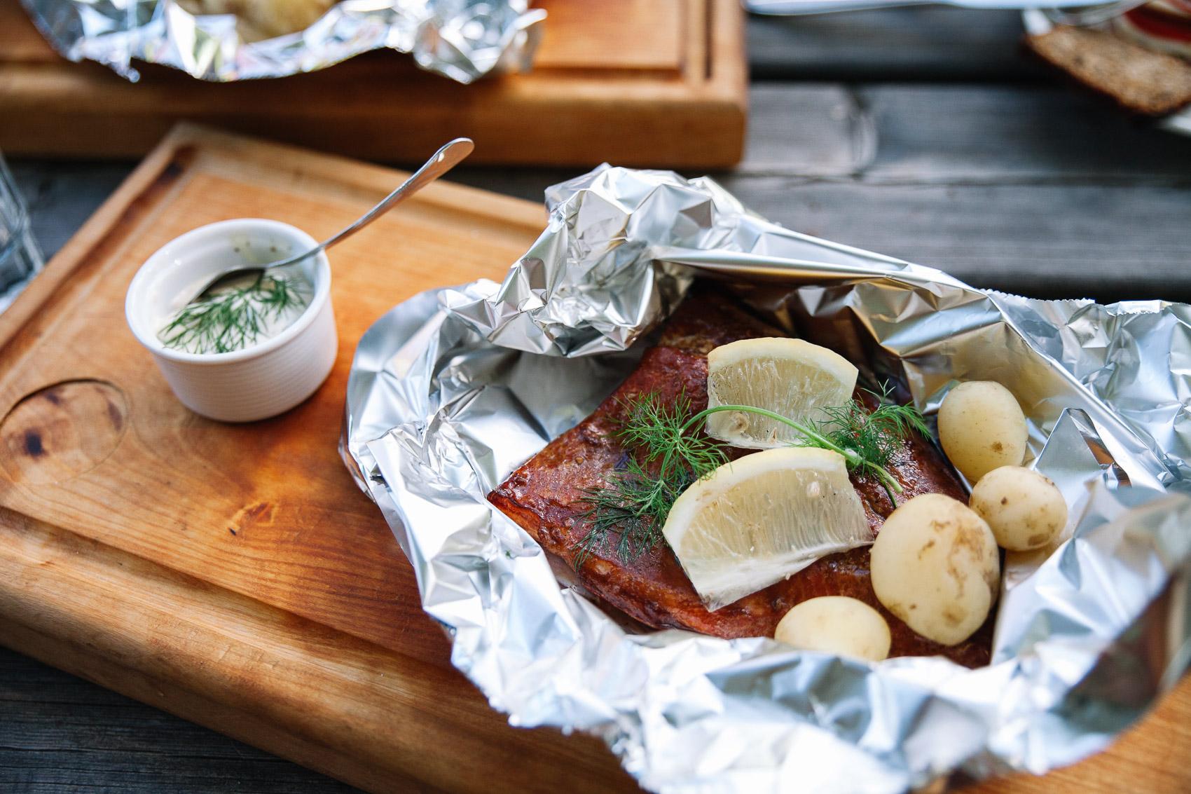 Finish salmon