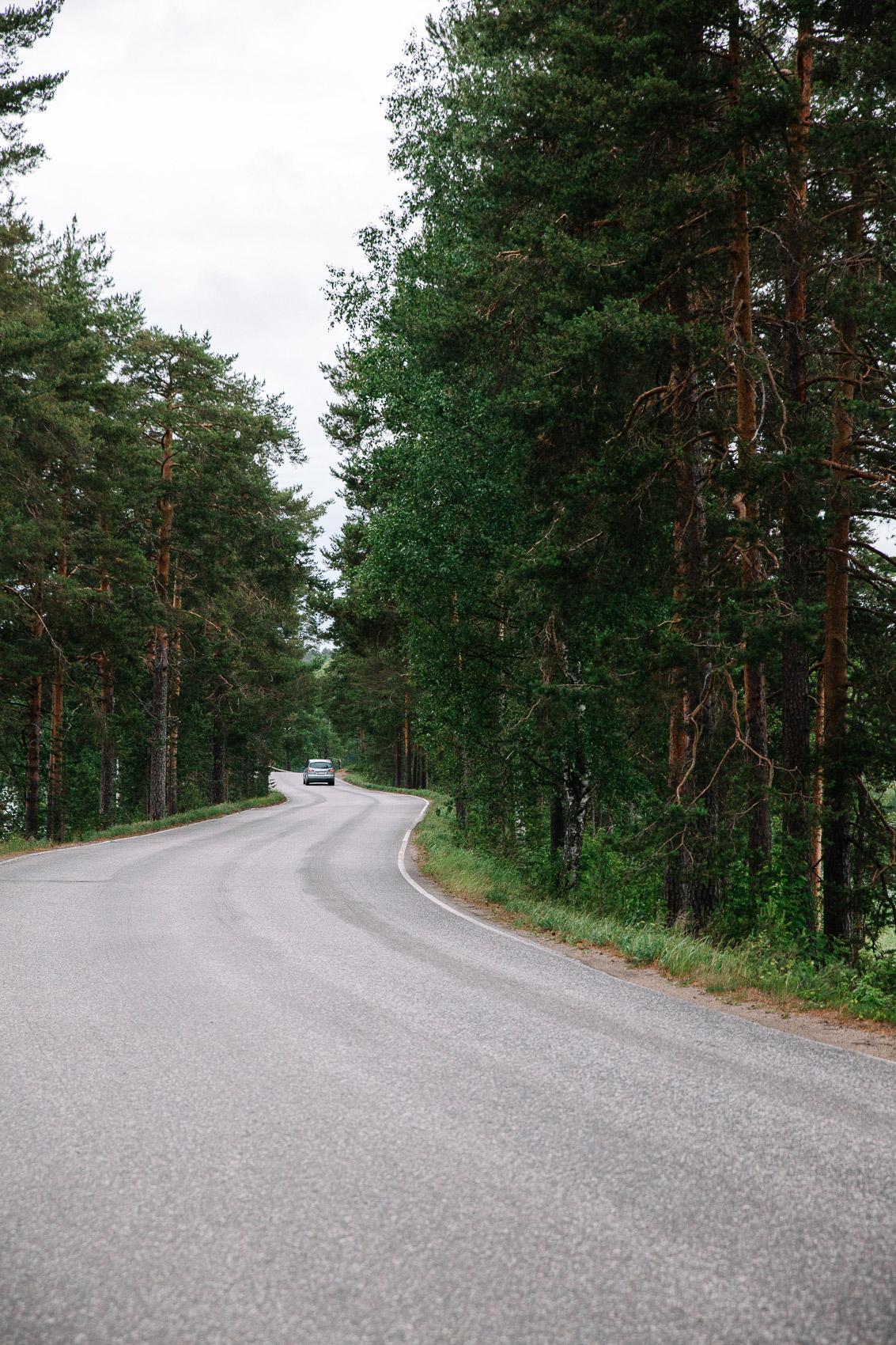 Punkaharju road