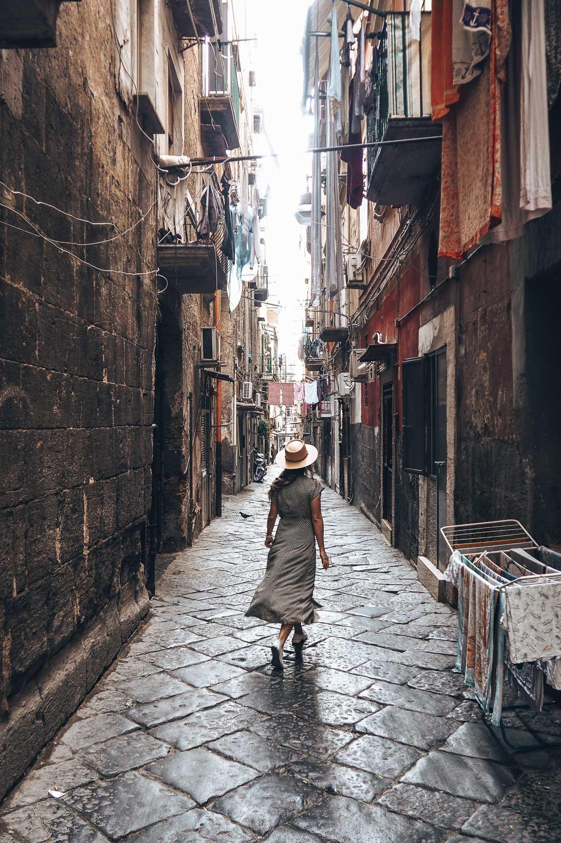 Callejear por Nápoles