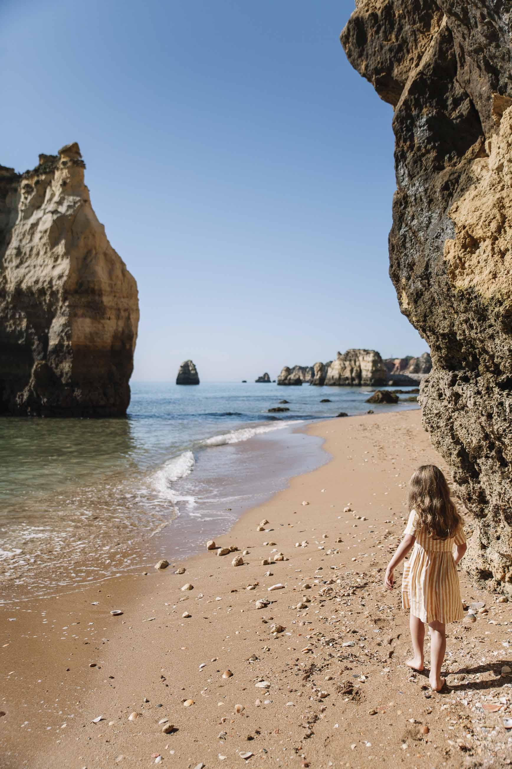 playas en el Algarve