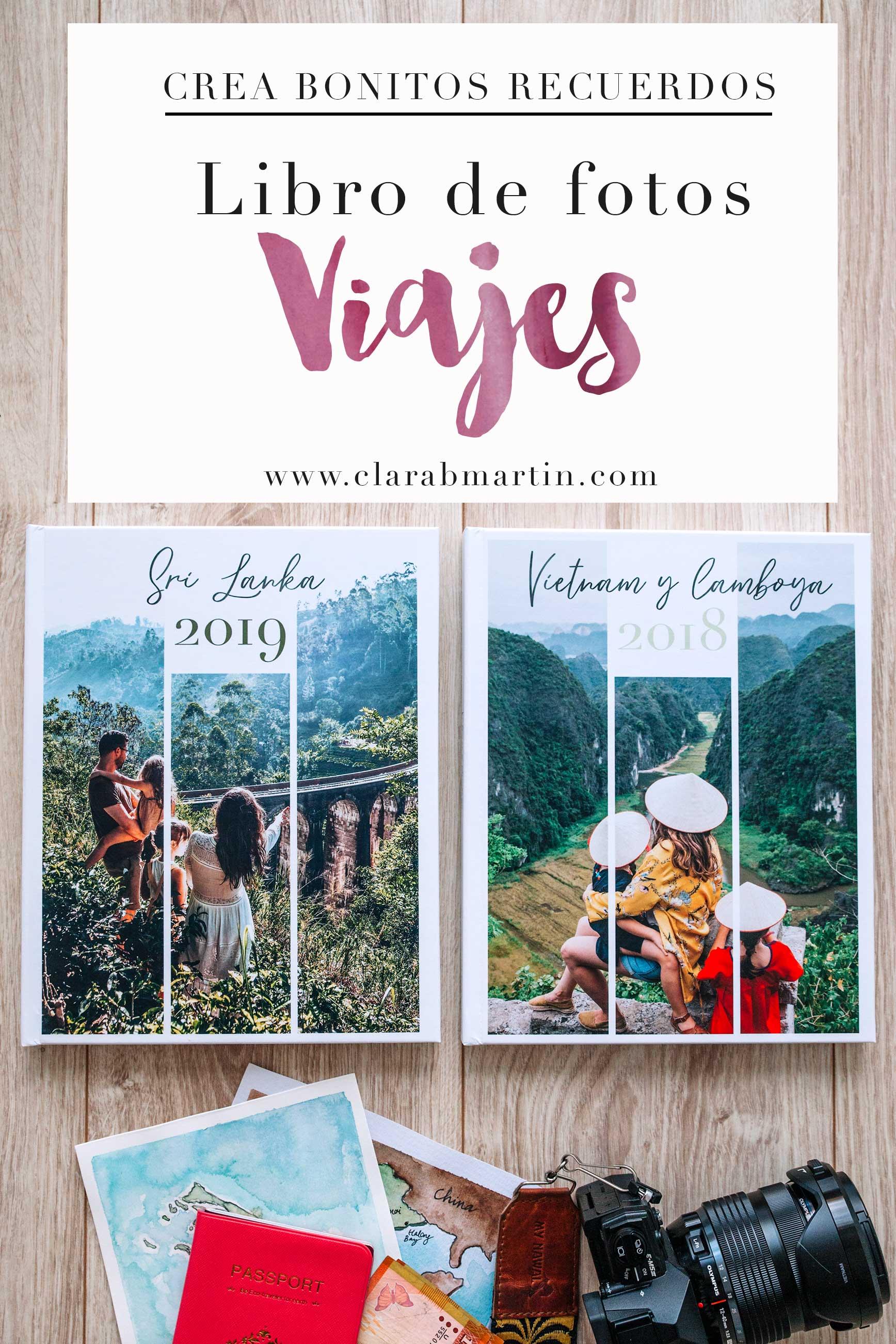 Libro de fotos de viajes