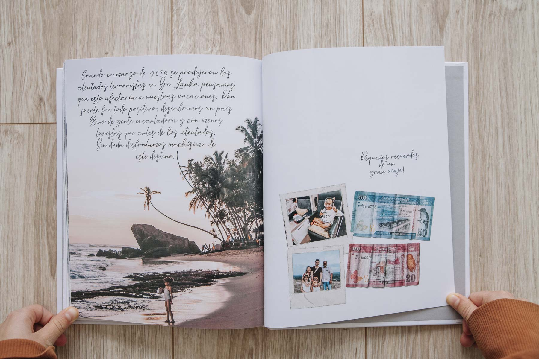 Libro de fotos de viajes - Blurb