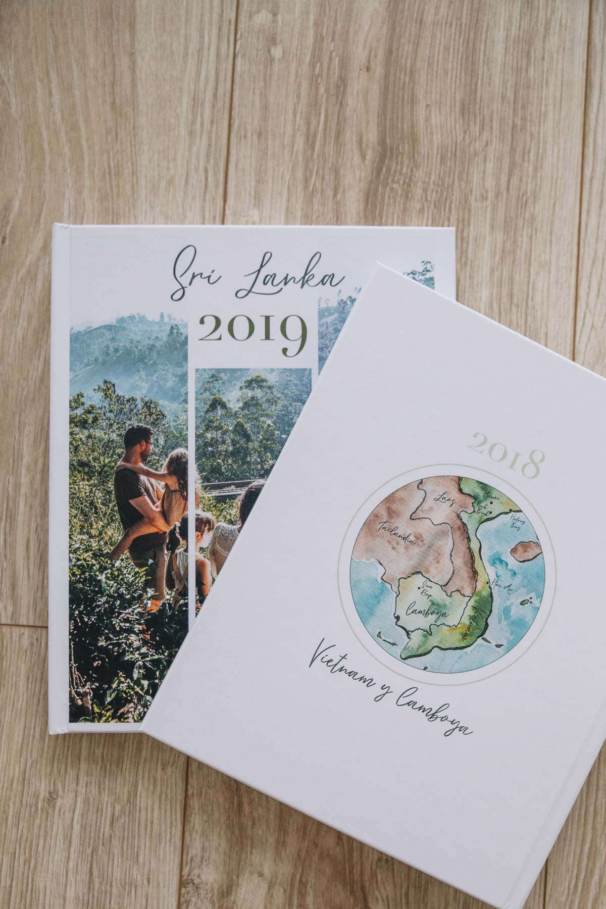Libro de fotos de viajes - Libro de fotos de Sri Lanka