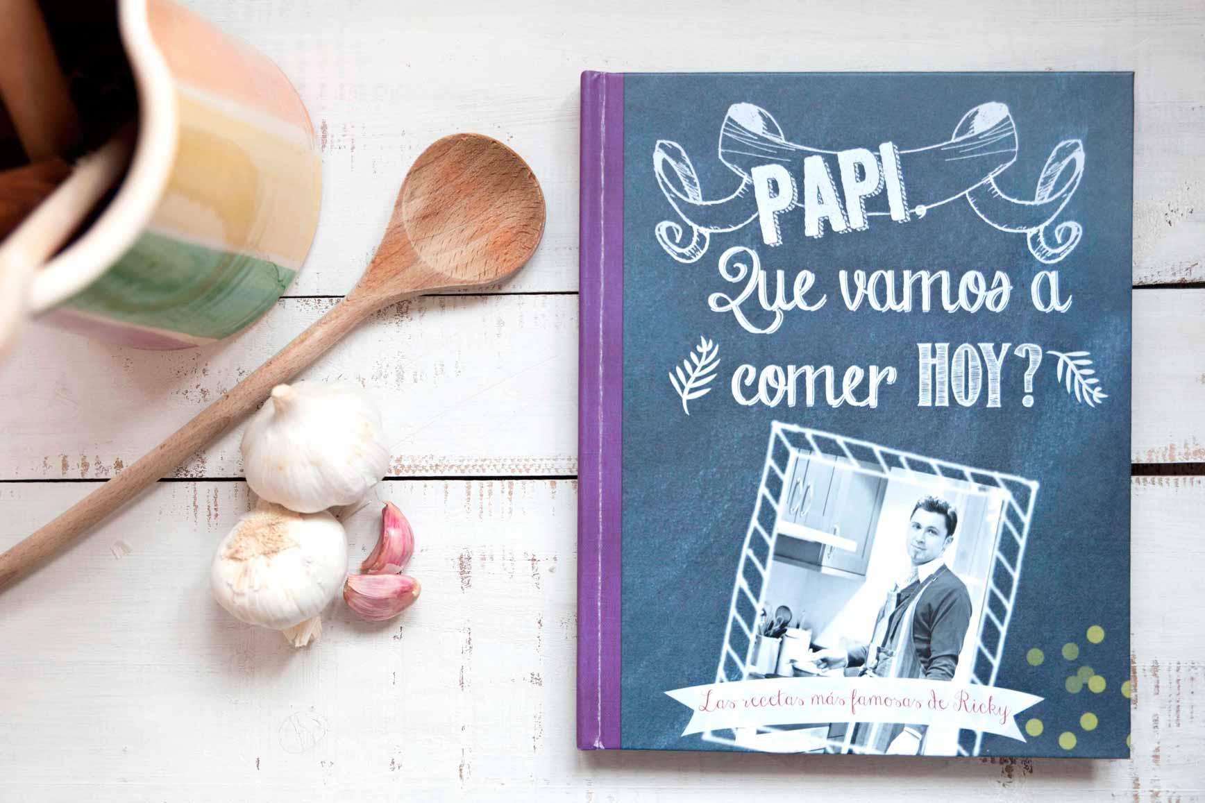 Libro de recetas para papá