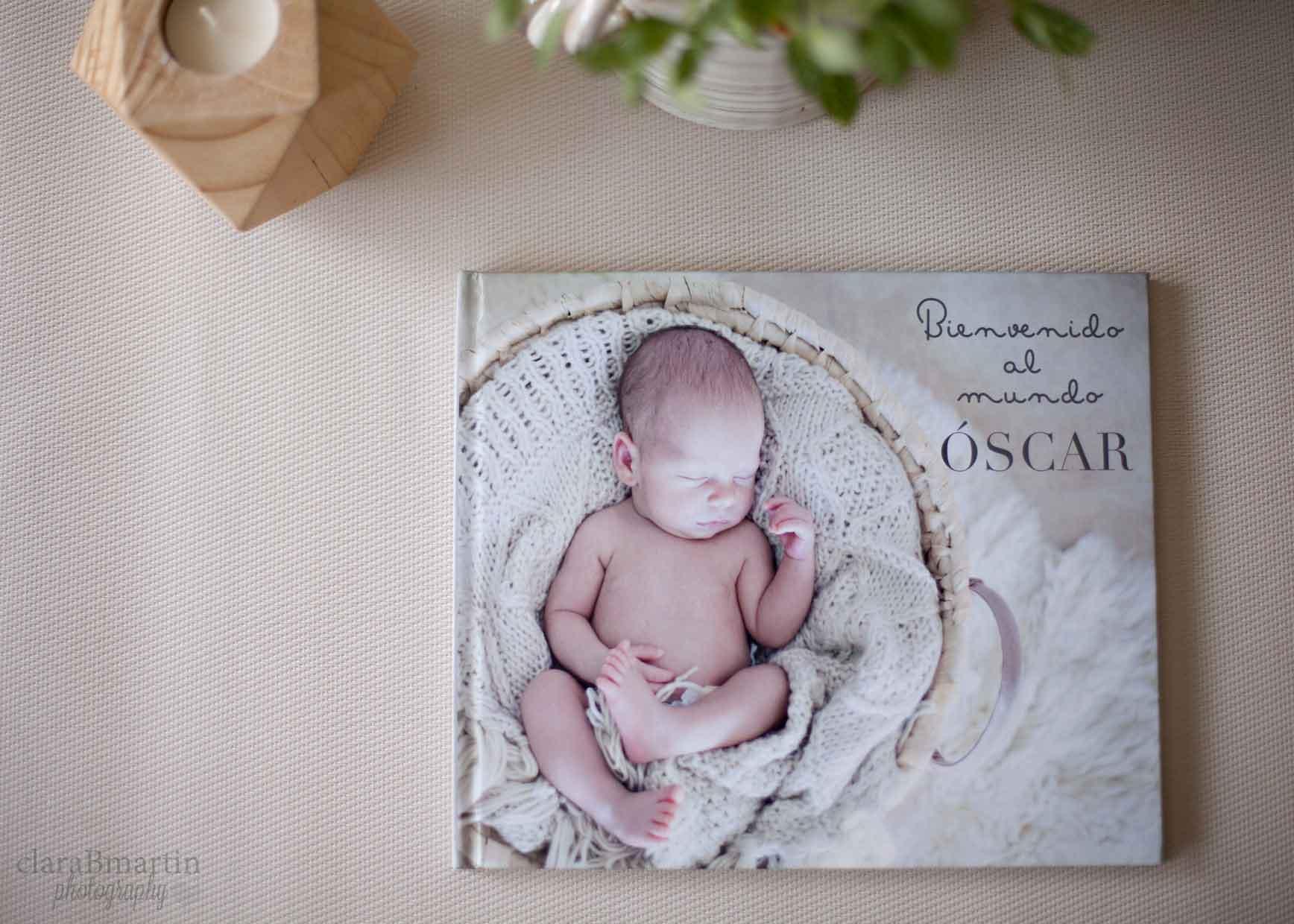 Libro de fotos recién nacido