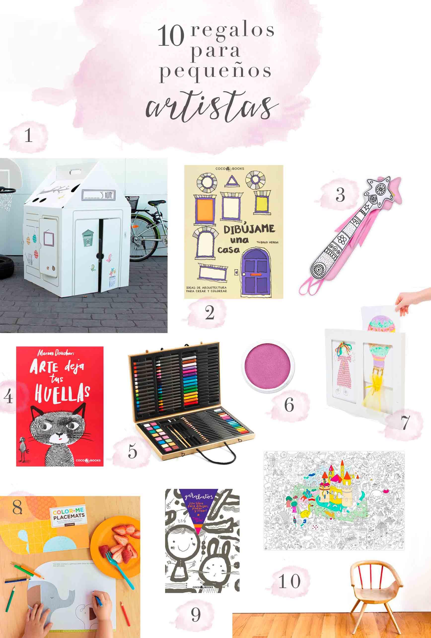 10 regalos para pequeños artistas