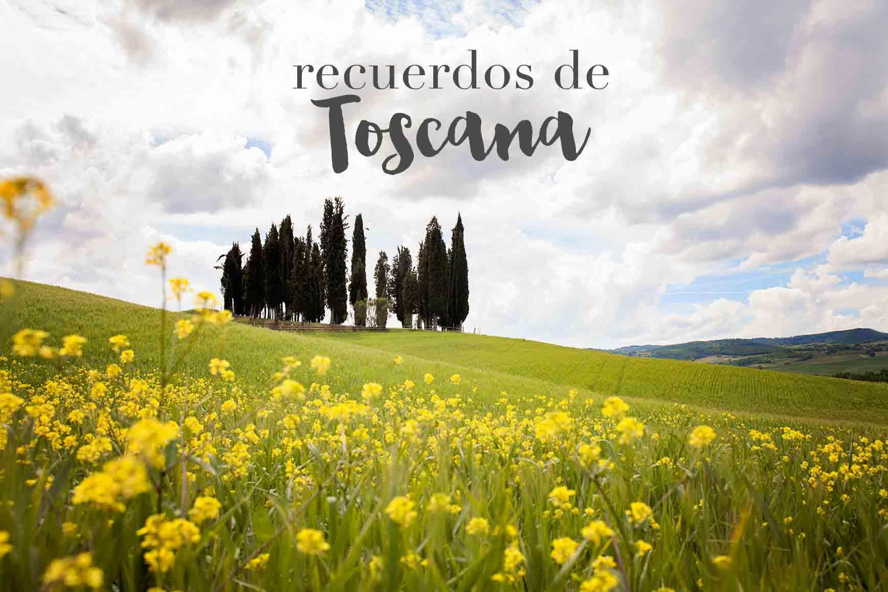 recuerdos de Toscana