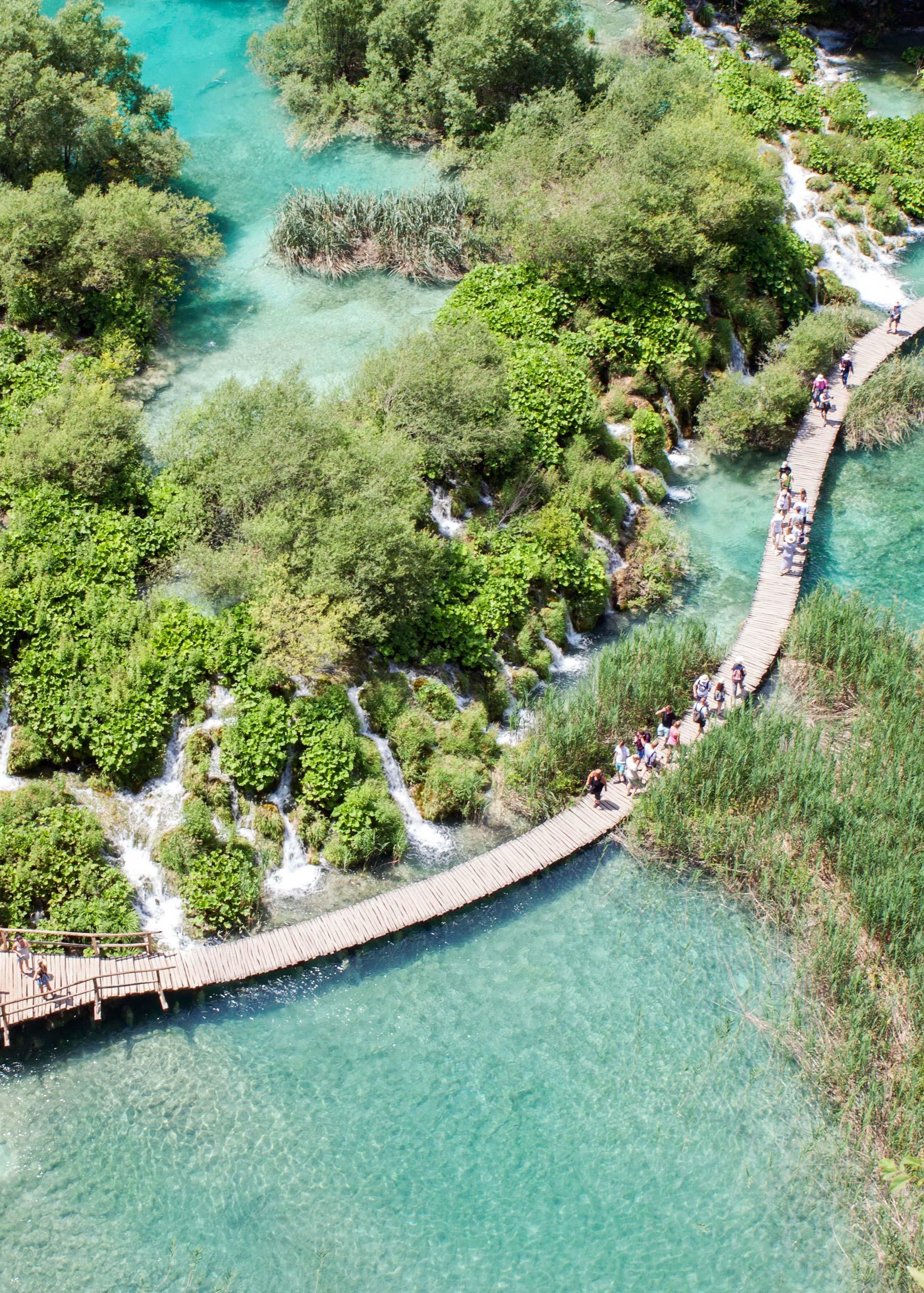 Lagos de Plitvice, una joya natural en Croacia