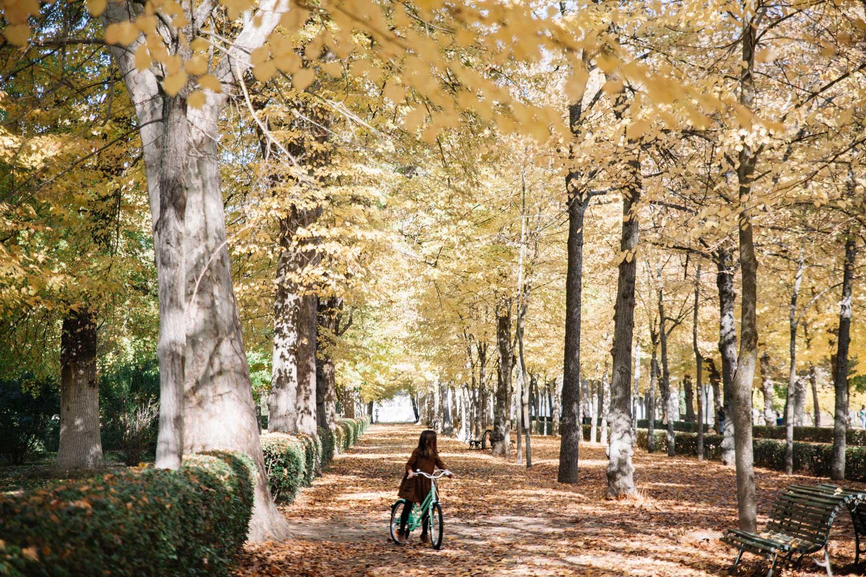 montar en bici Madrid