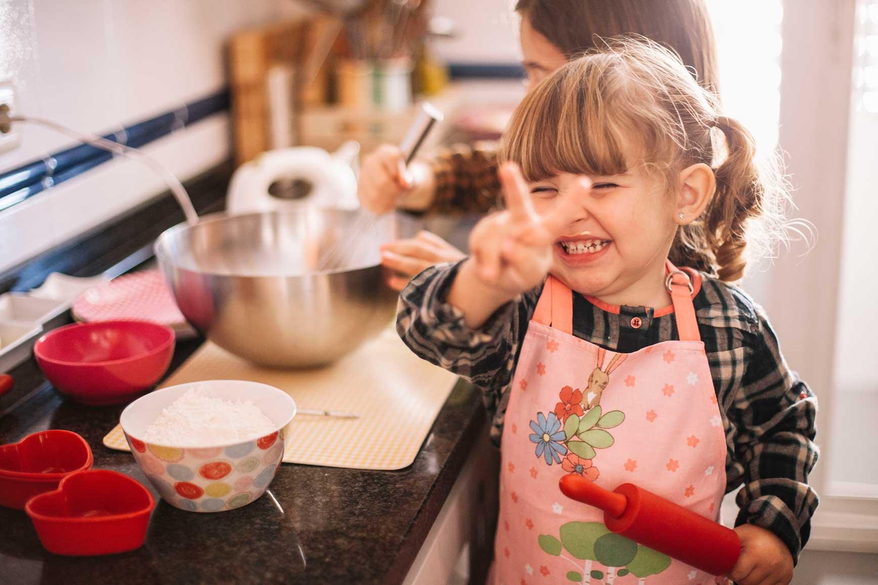 Receta de pancakes para hacer con niños