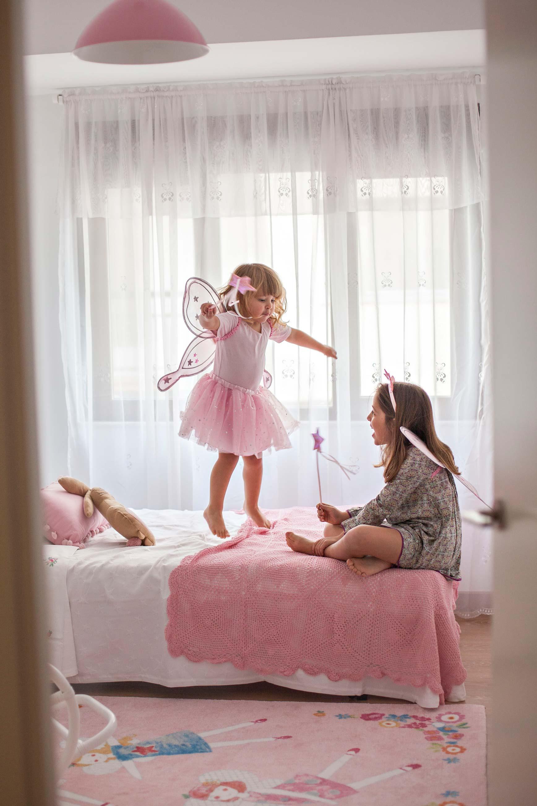 Una habitación de princesas para jugar y soñar