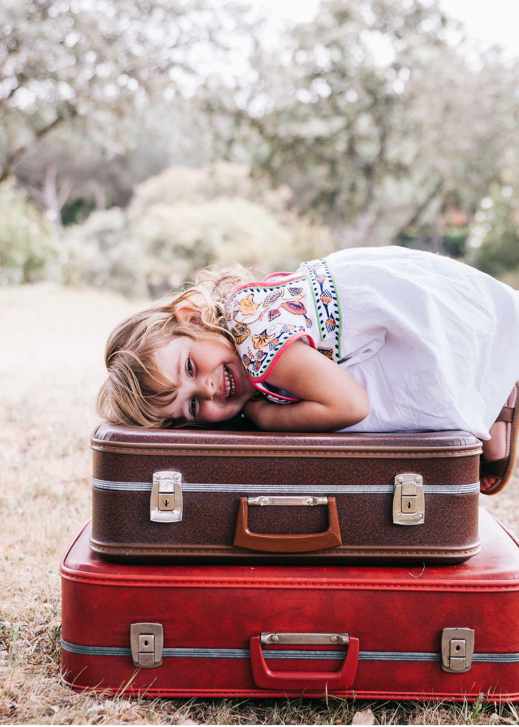 Que llevar en la maleta cuando viajas con niños