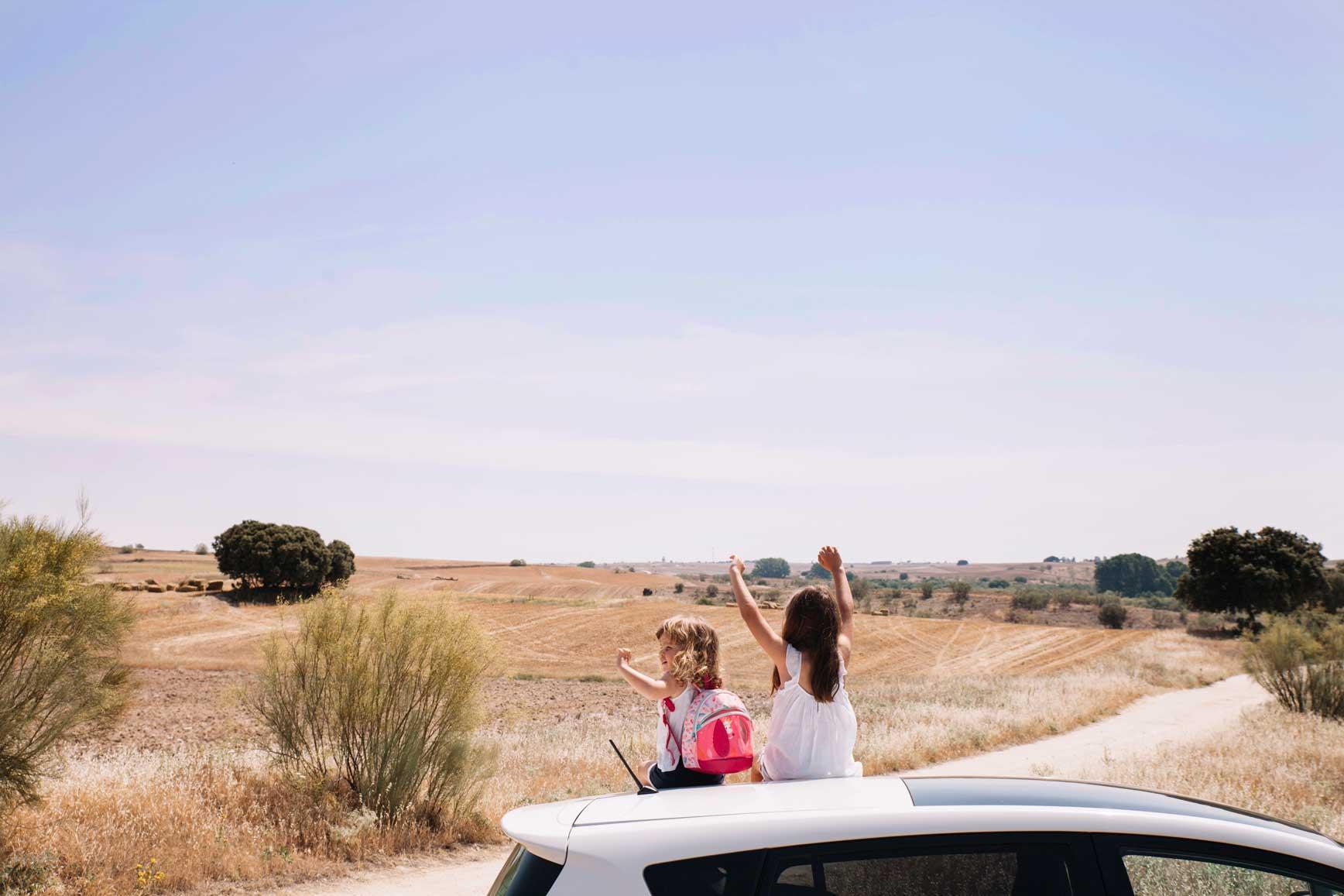 5 consejos para viajar en coche con niños