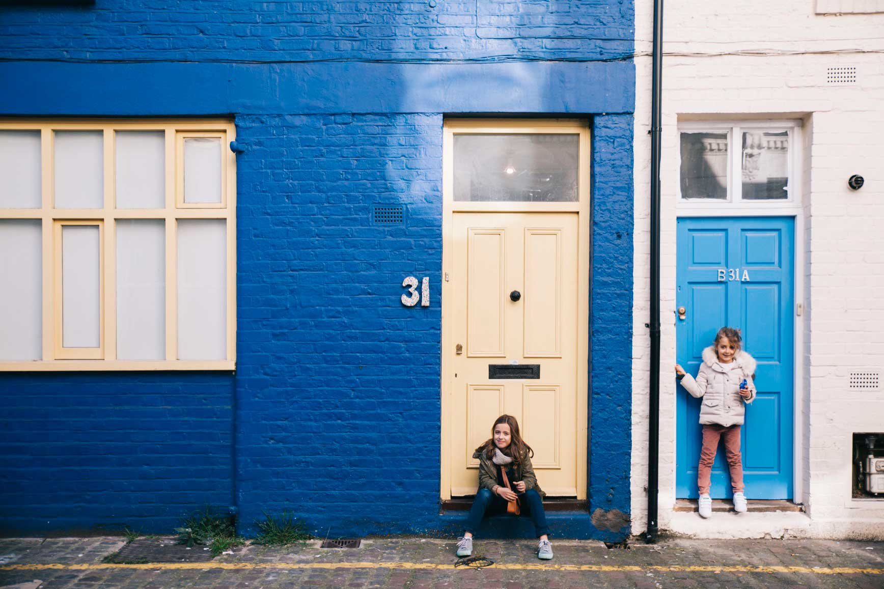 Lugares famosos para hacer fotos en Londres - Notting Hill
