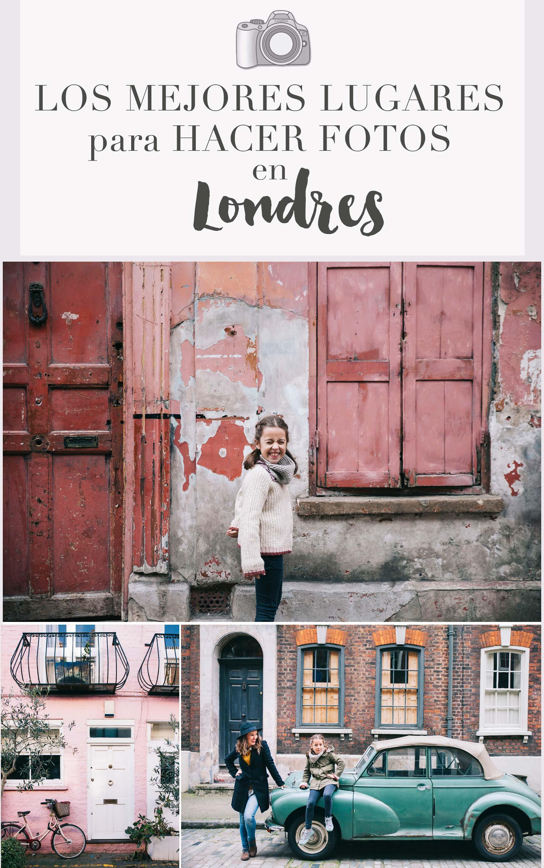 Donde hacer fotos en Londres