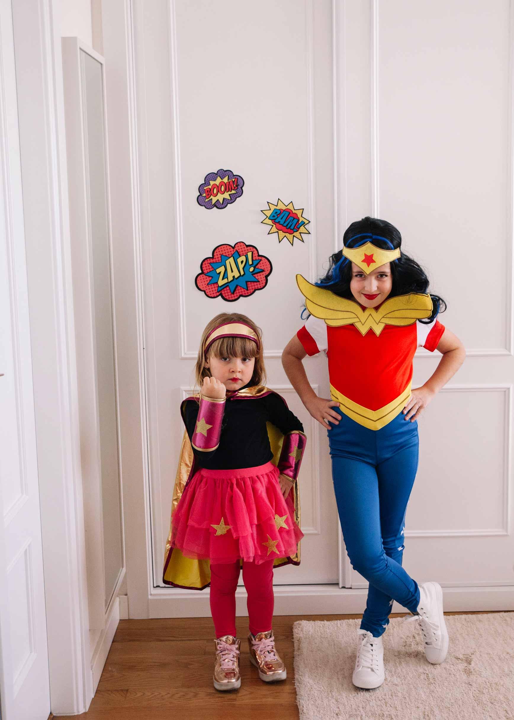 Súper Heroes para Carnaval