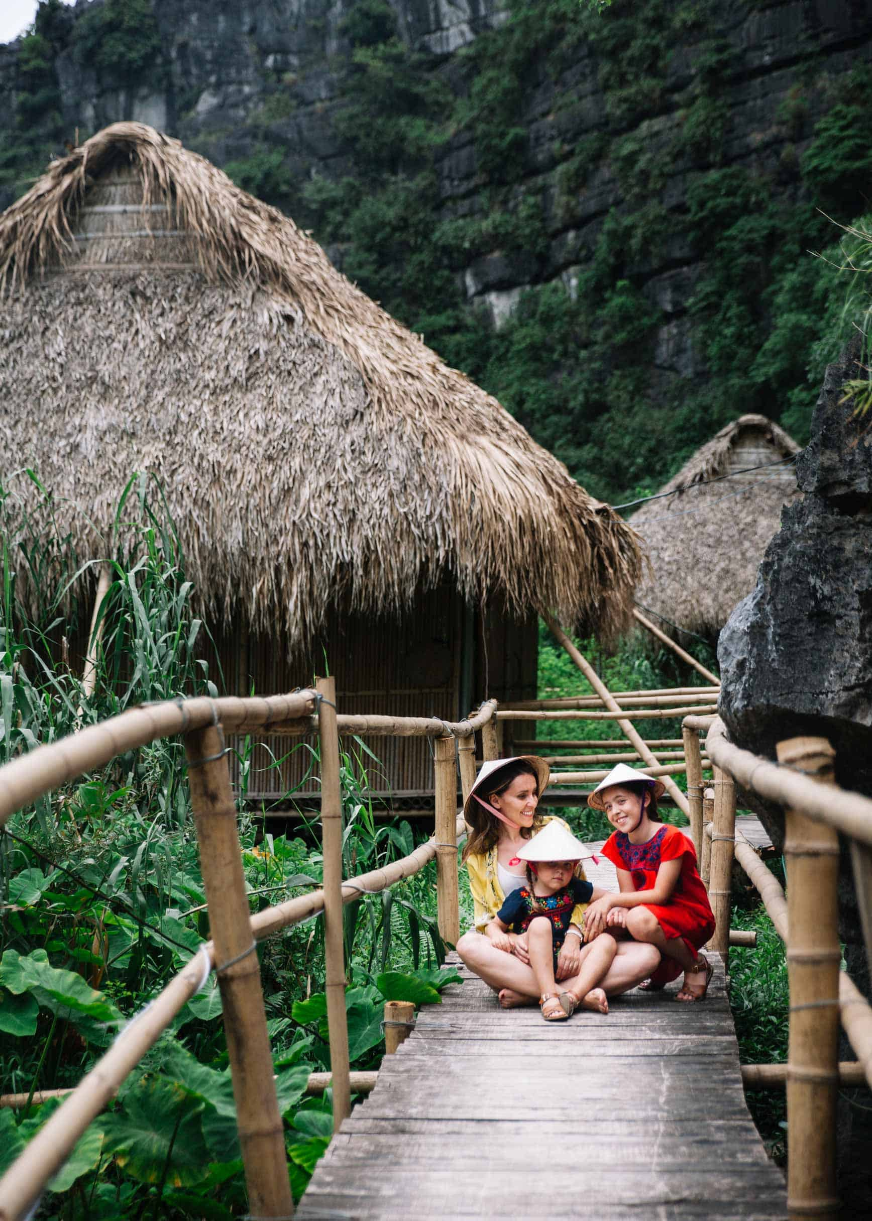 Vietnam con niños - Nguyen Shack Ninh Binh