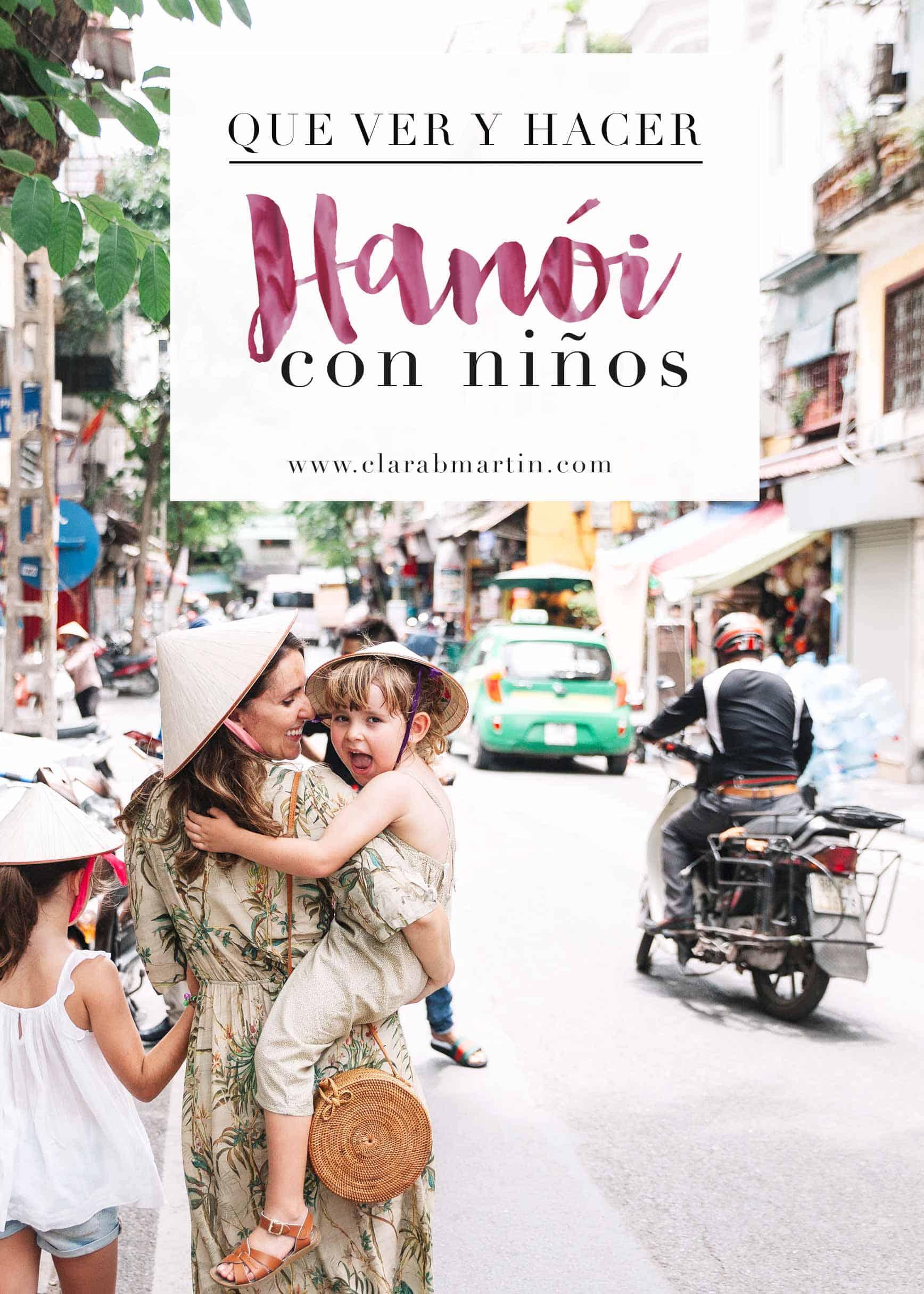 Hanói con niños