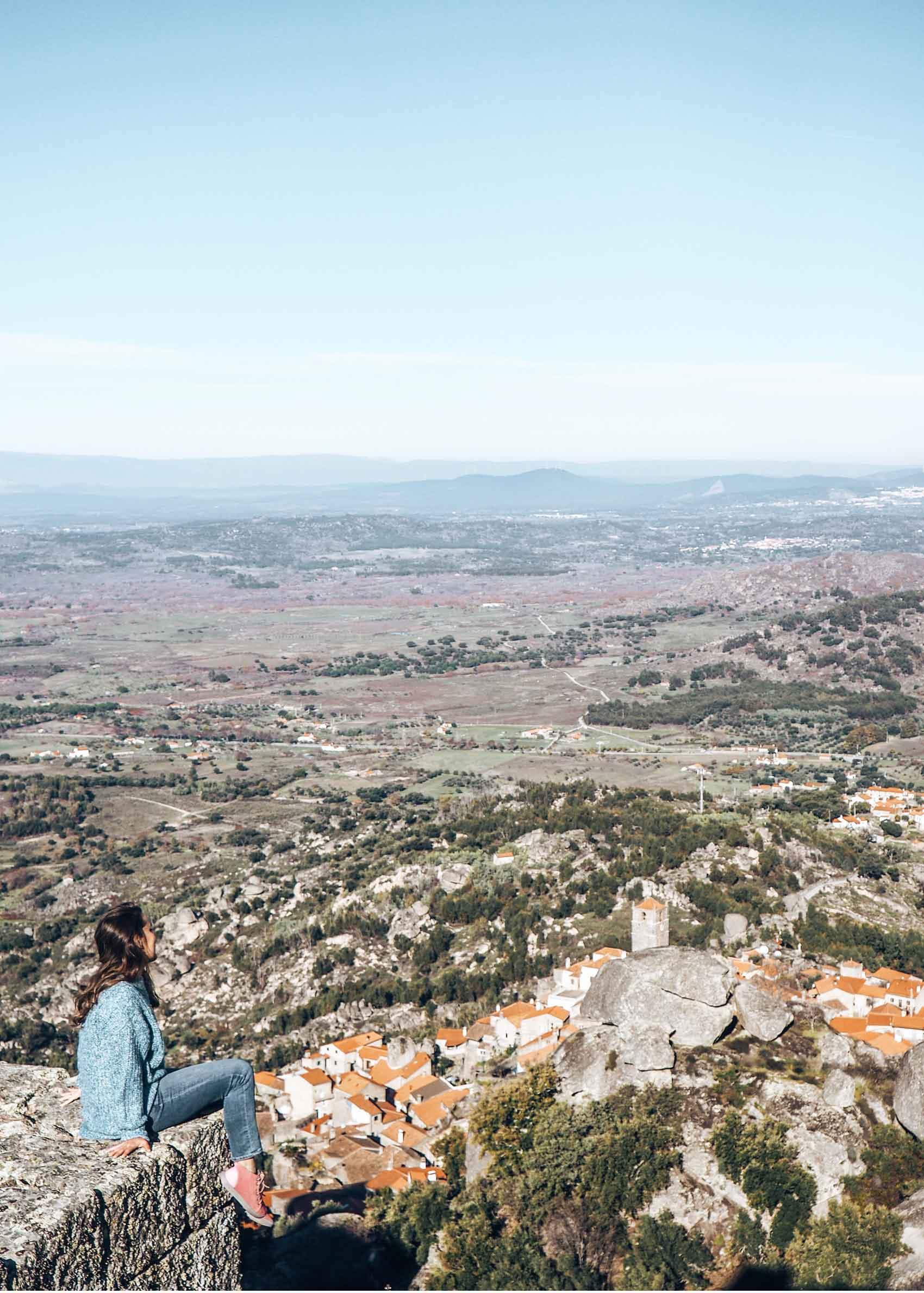 Pueblos bonitos del centro de Portugal Monsanto