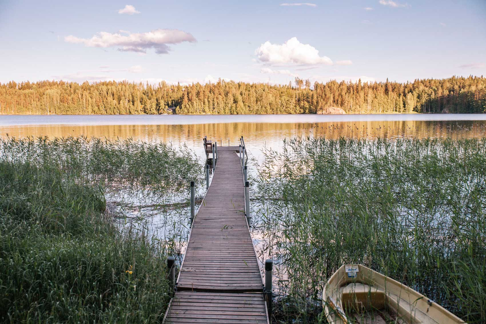 Finish lake