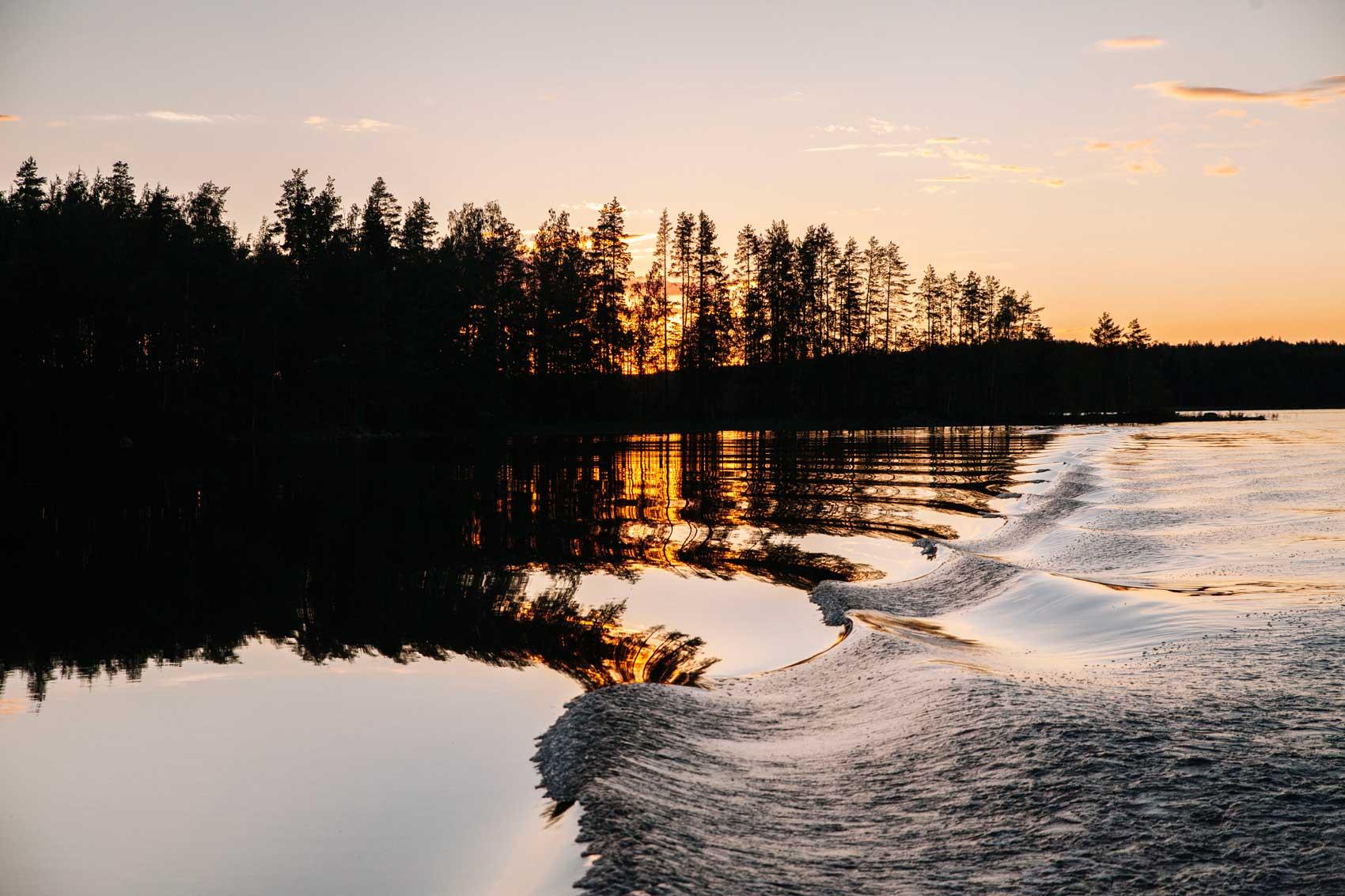 Finland midnight sun
