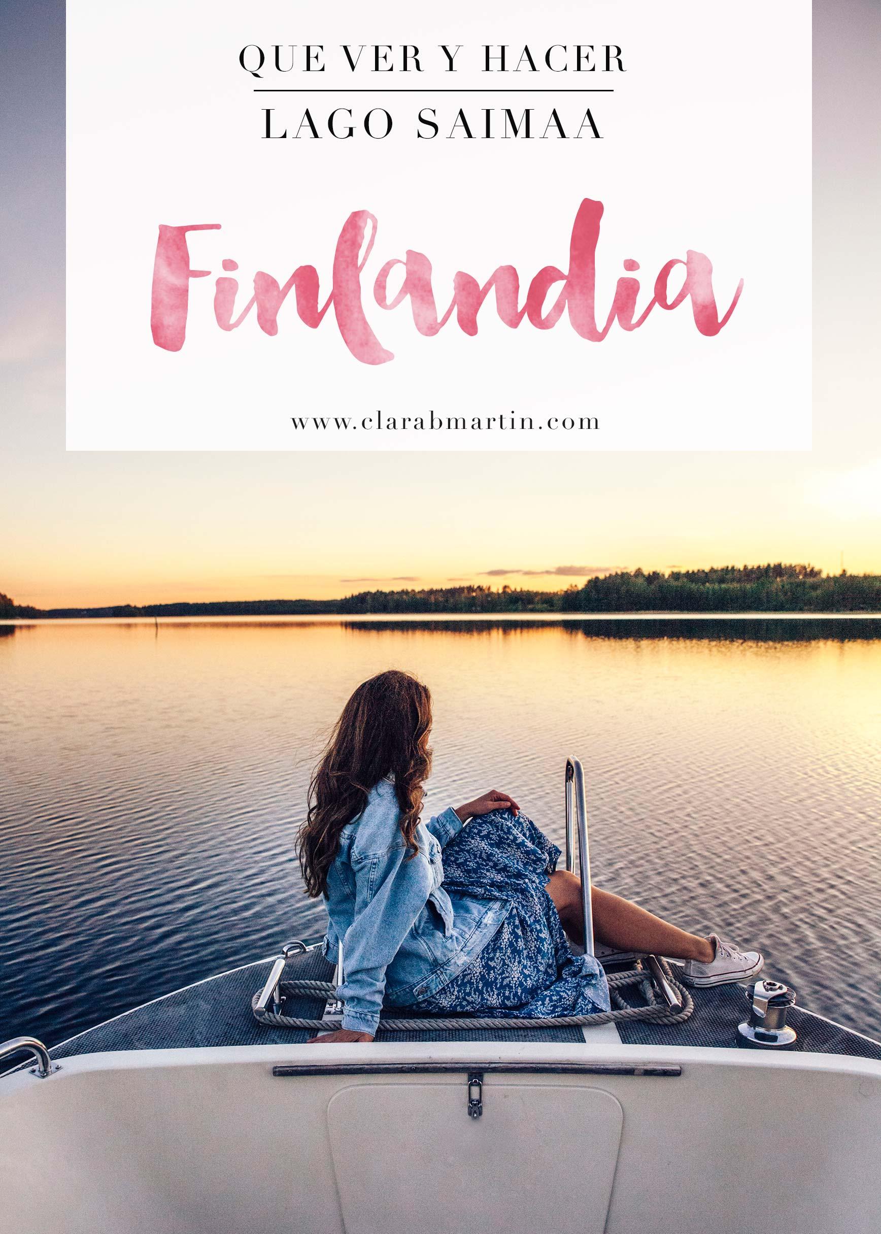 Finlandia Lago Saimaa