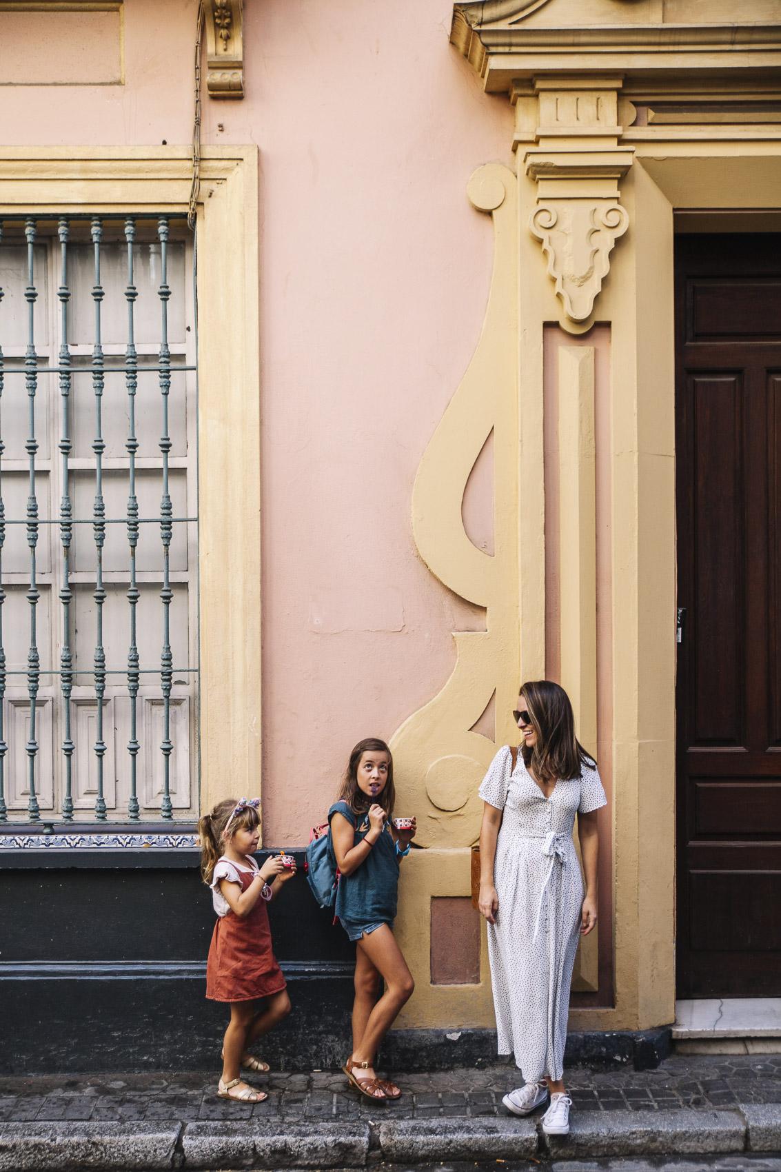 Sevilla con niños