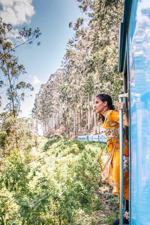 El tren de Kandy a Ella en Sri Lanka