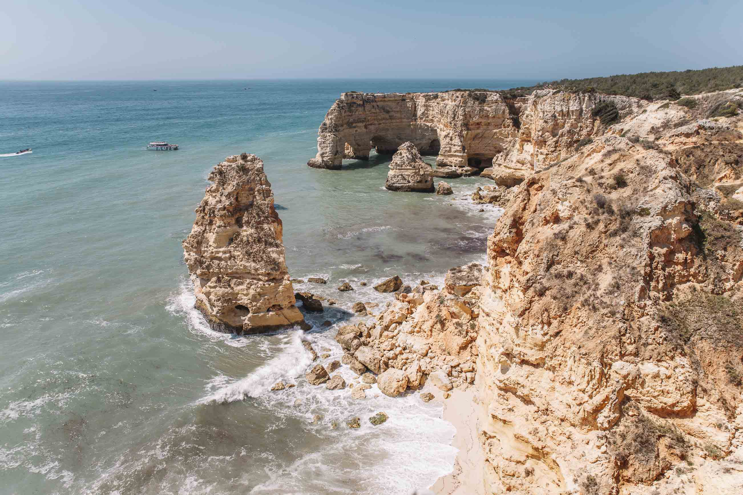 las mejores playas de El Algarve