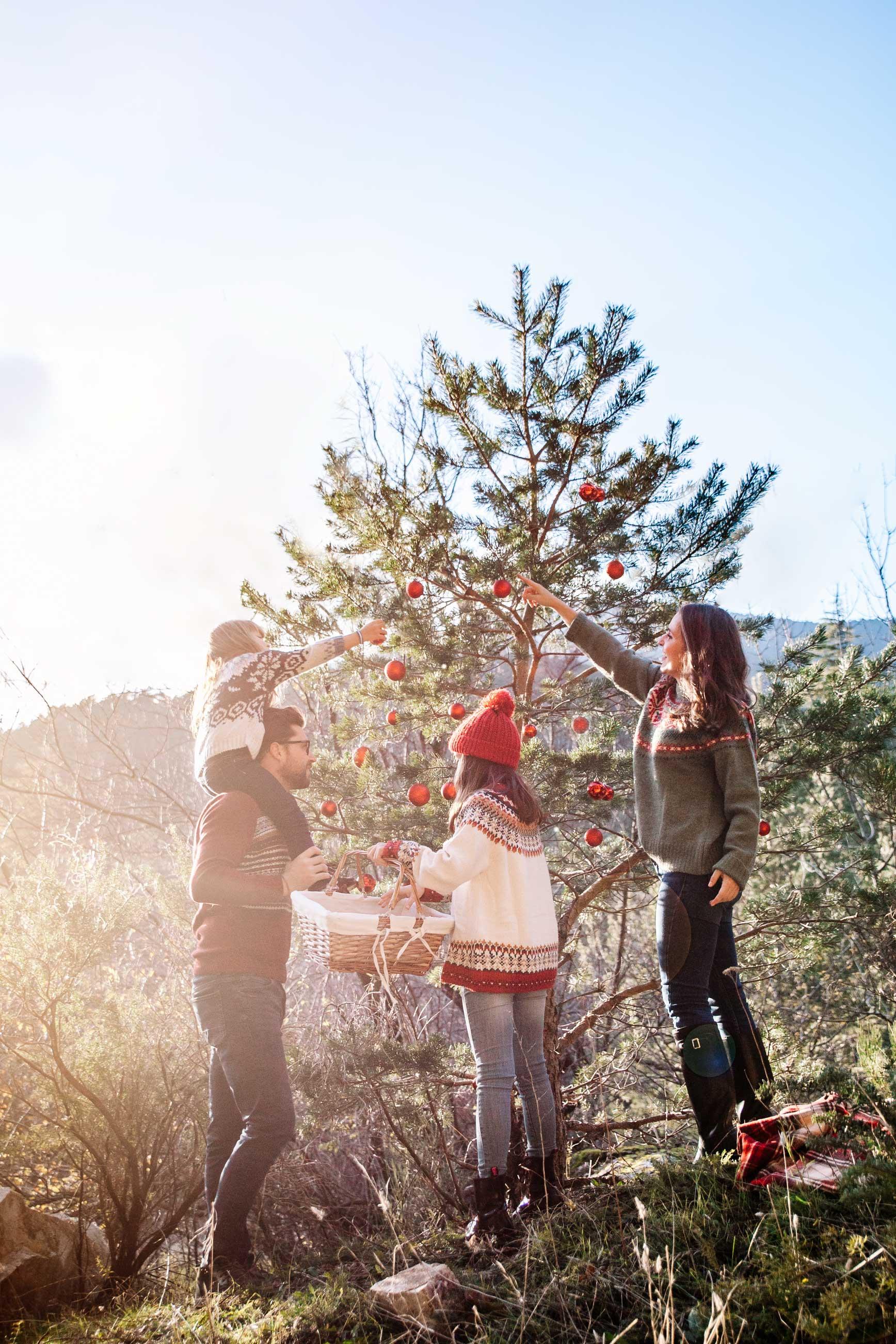 Consejos para hacer fotos navideñas