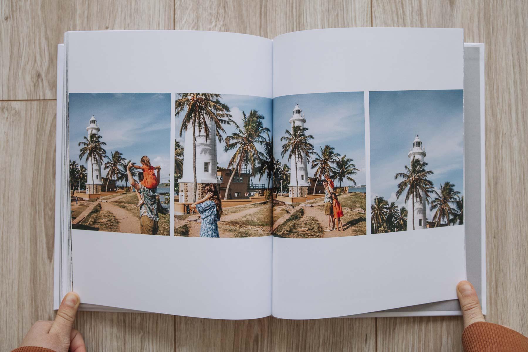Libro de fotos viaje