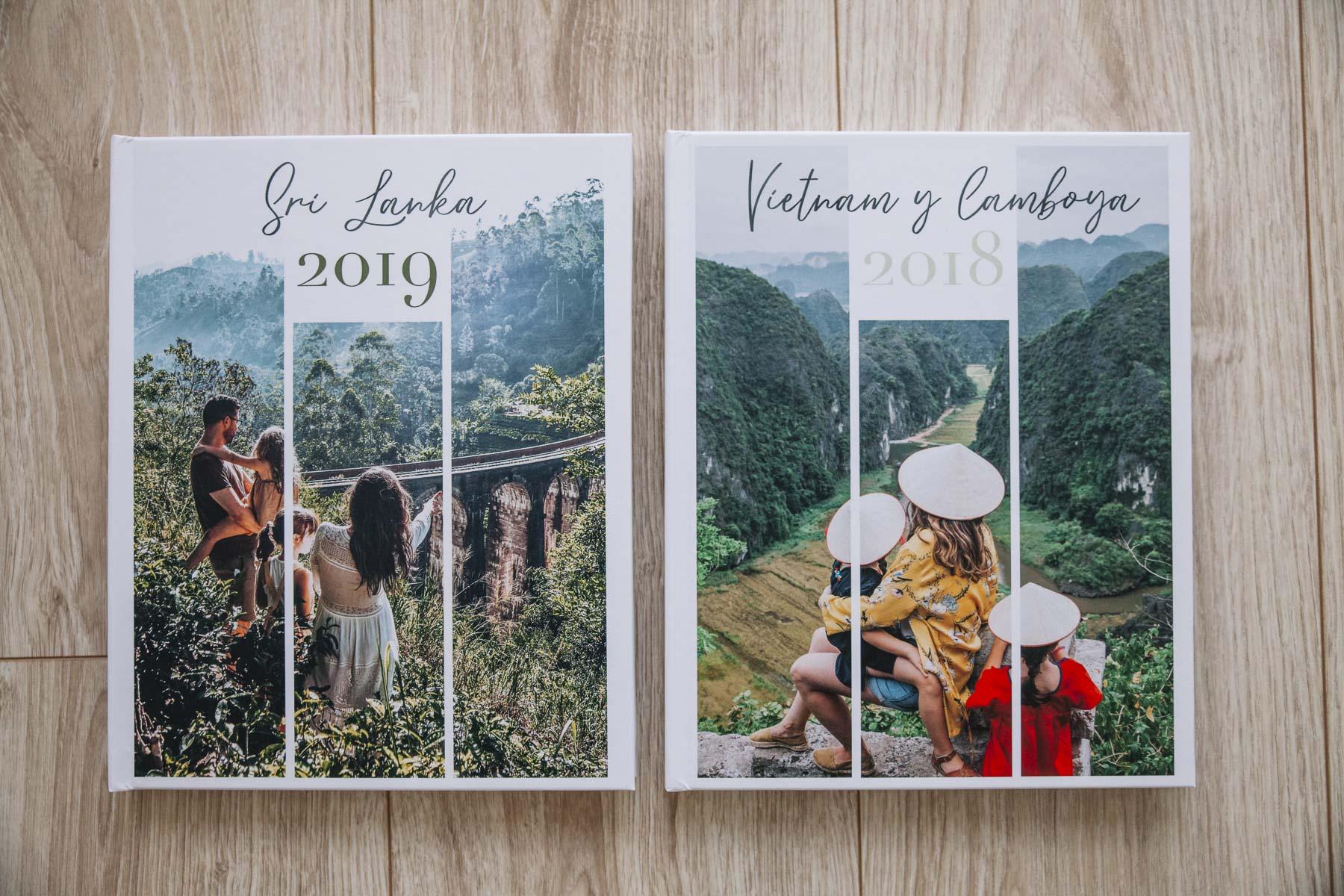 Libro de fotos de viajes anuales