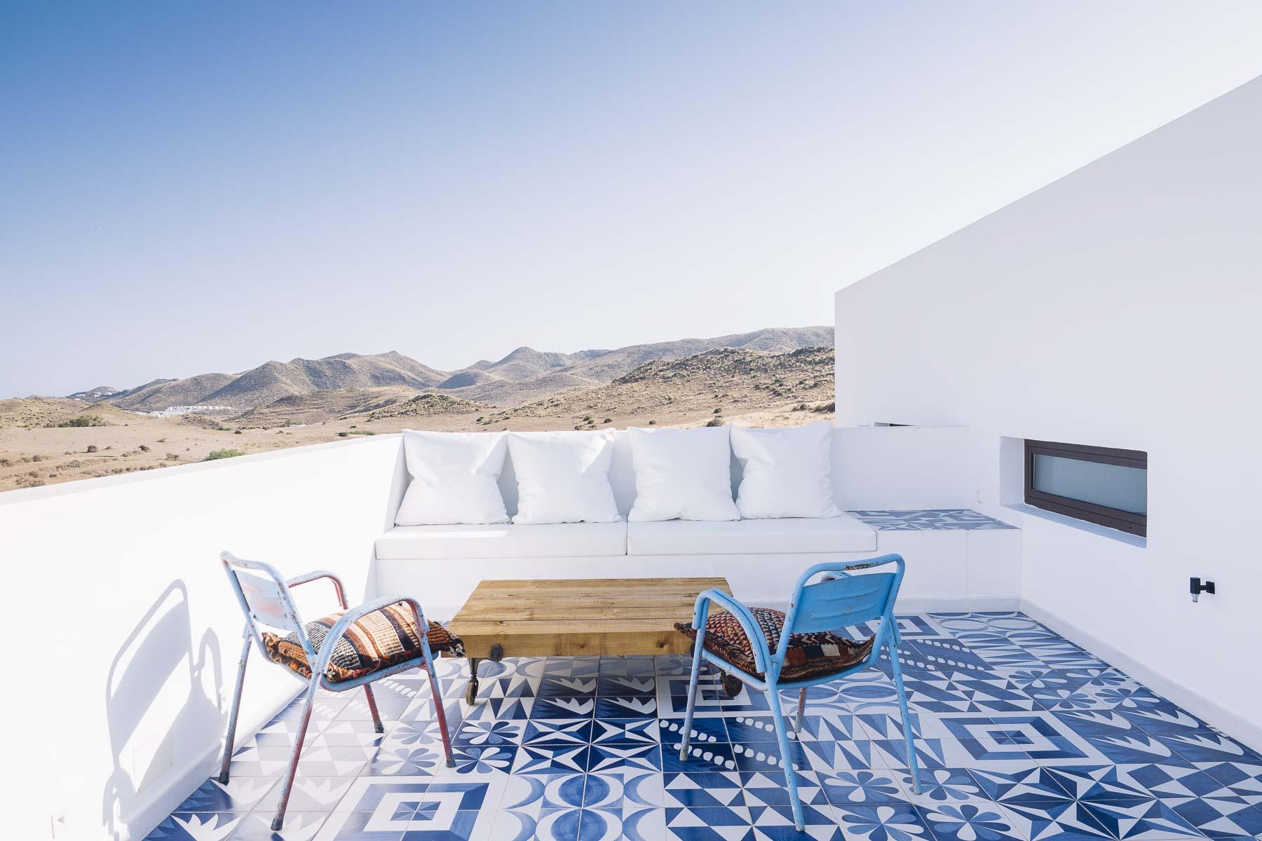 casa con piscina en Cabo de Gata