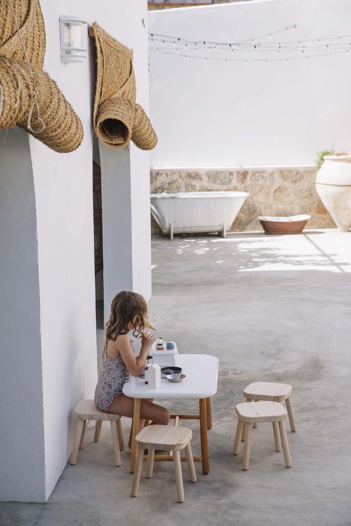 zona infantil casa rural El Bálsamo, Belmonte